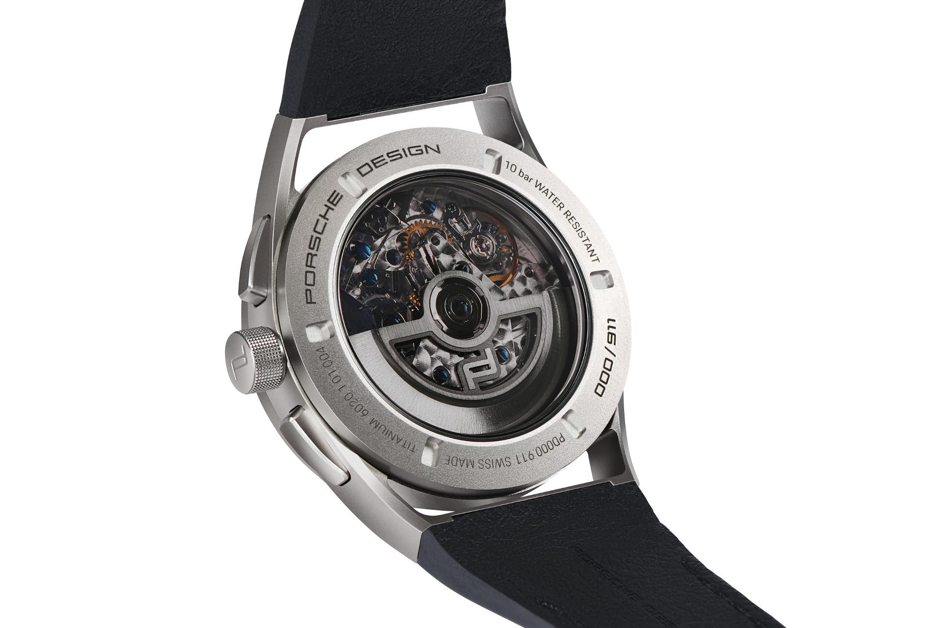 Gehäuseboden Porsche Design 911 Chronograph