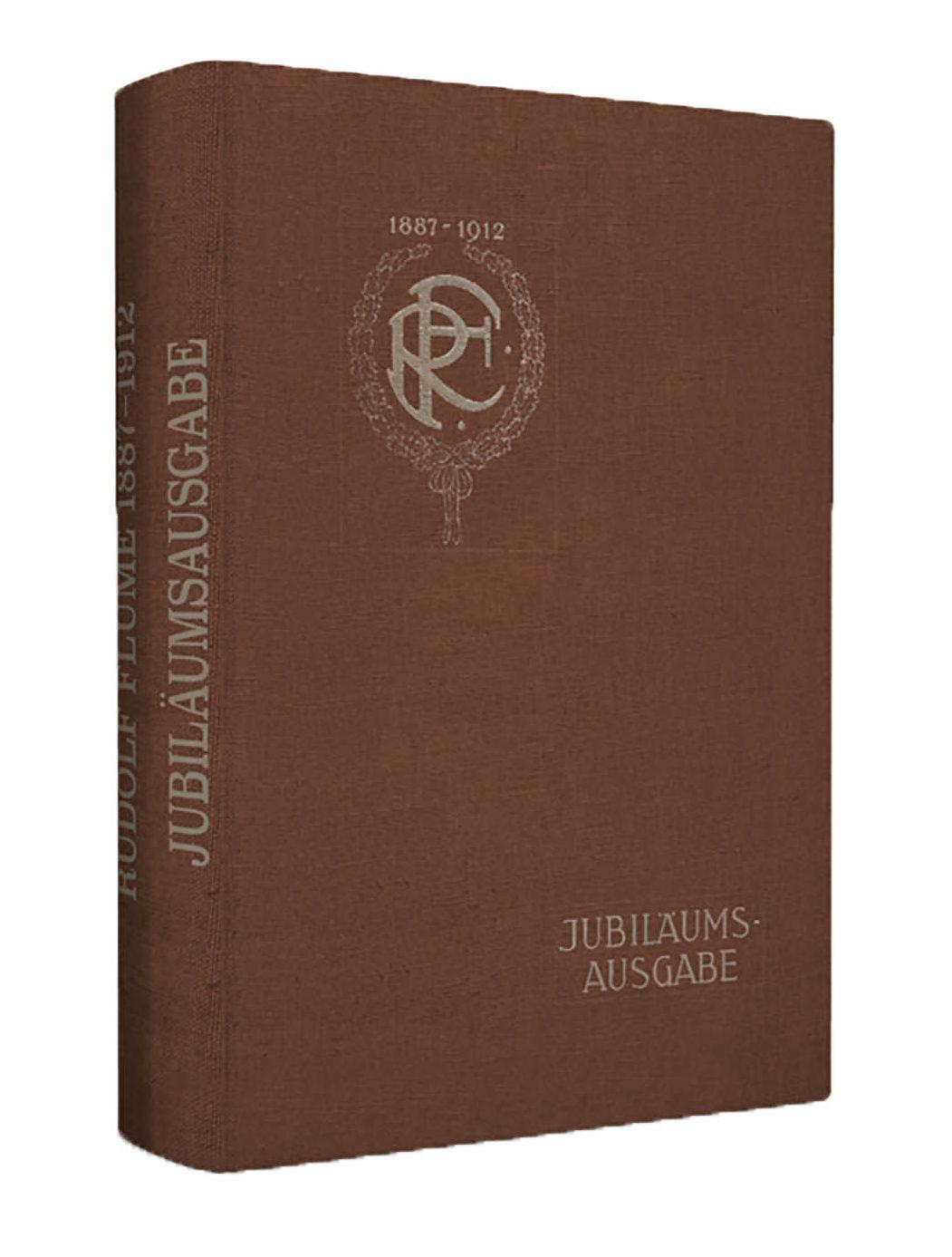 Flume Jubiläumskatalog 1887-1912