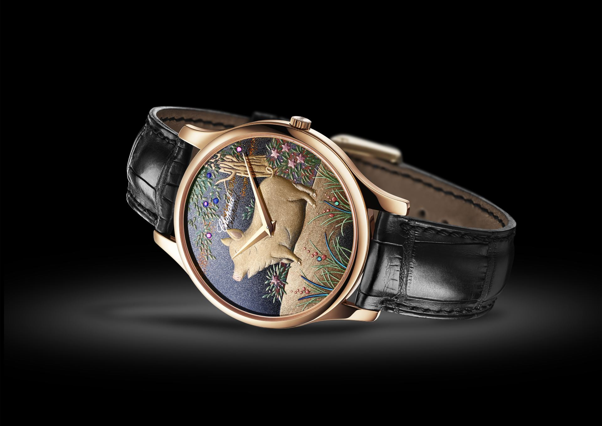 L.U.C XP Urushi Year of the Pig von Chopard.