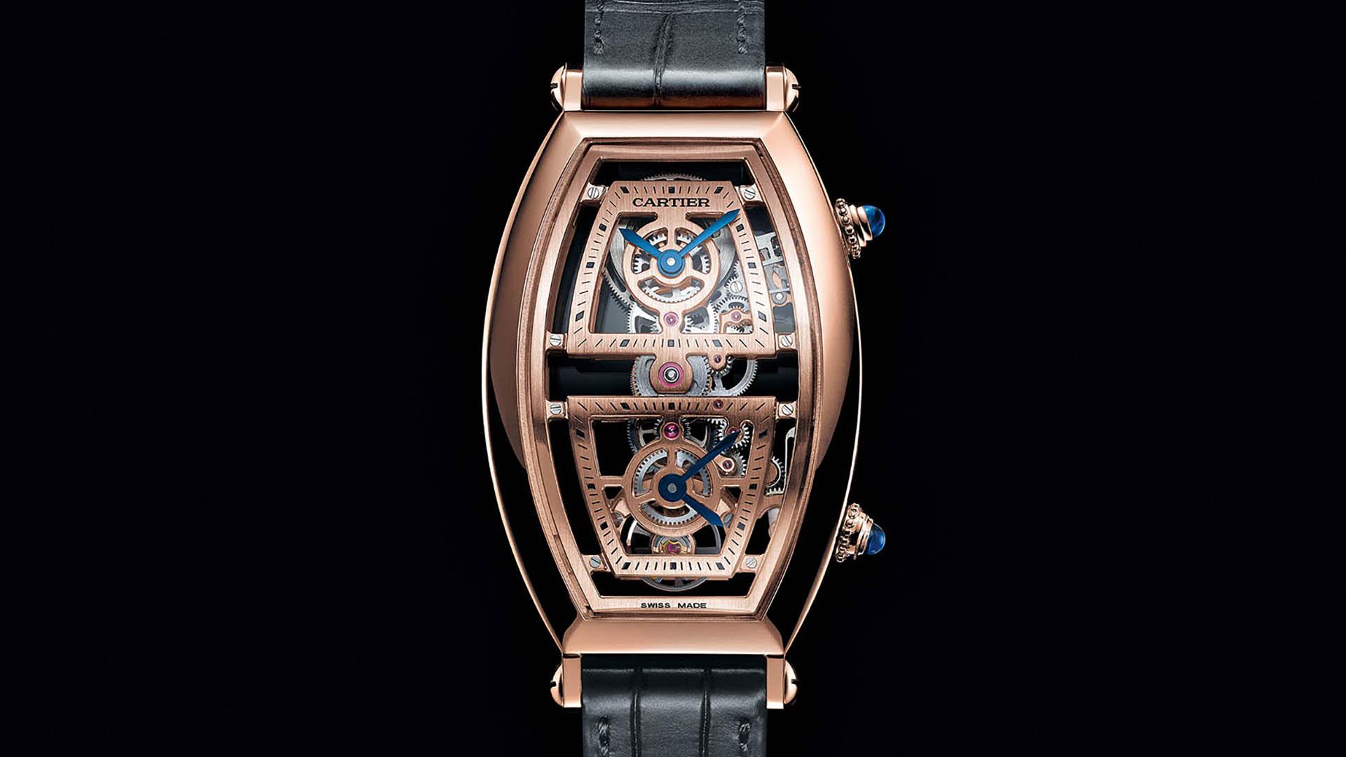 Cartier Privé Tonneau Dual Time