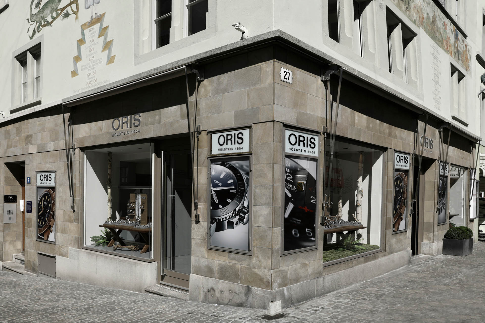 Oris-Boutique in Zürich