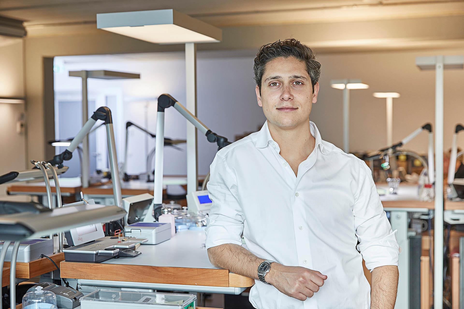 Philipp Man, Mitgründer und Geschäftsführer von CHRONEXT