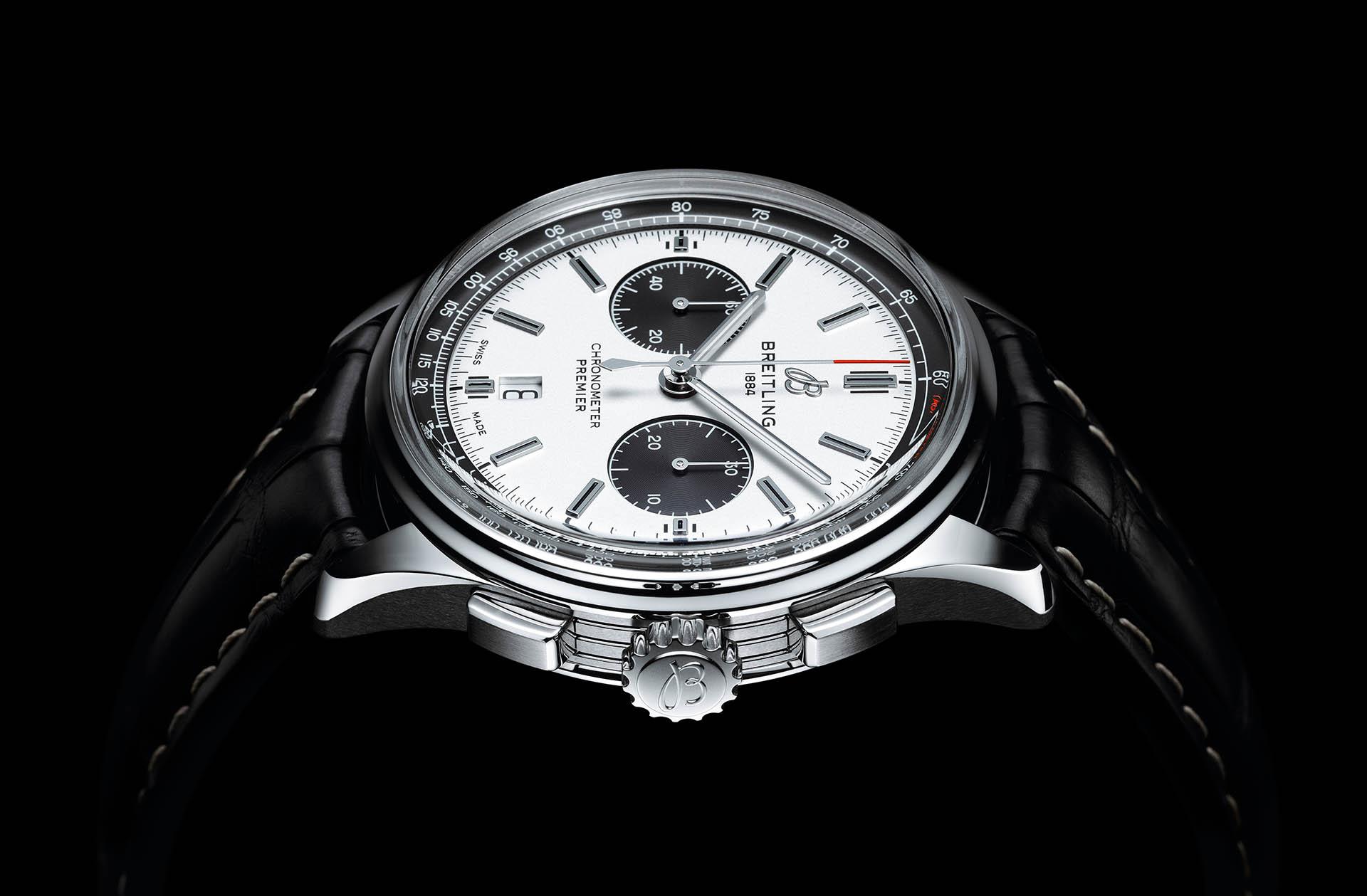 Panda: Breitling Premier B01 Chronograph 42.