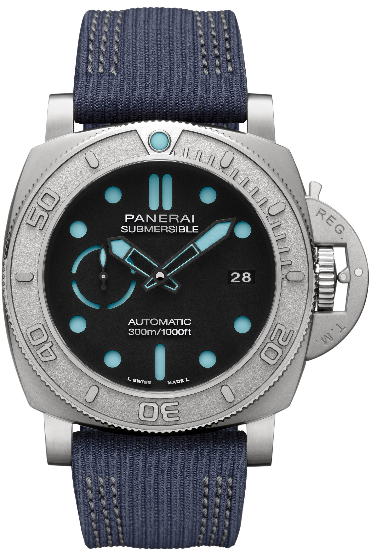Panerai Submersible EcoTitanium Mike Horn Edition