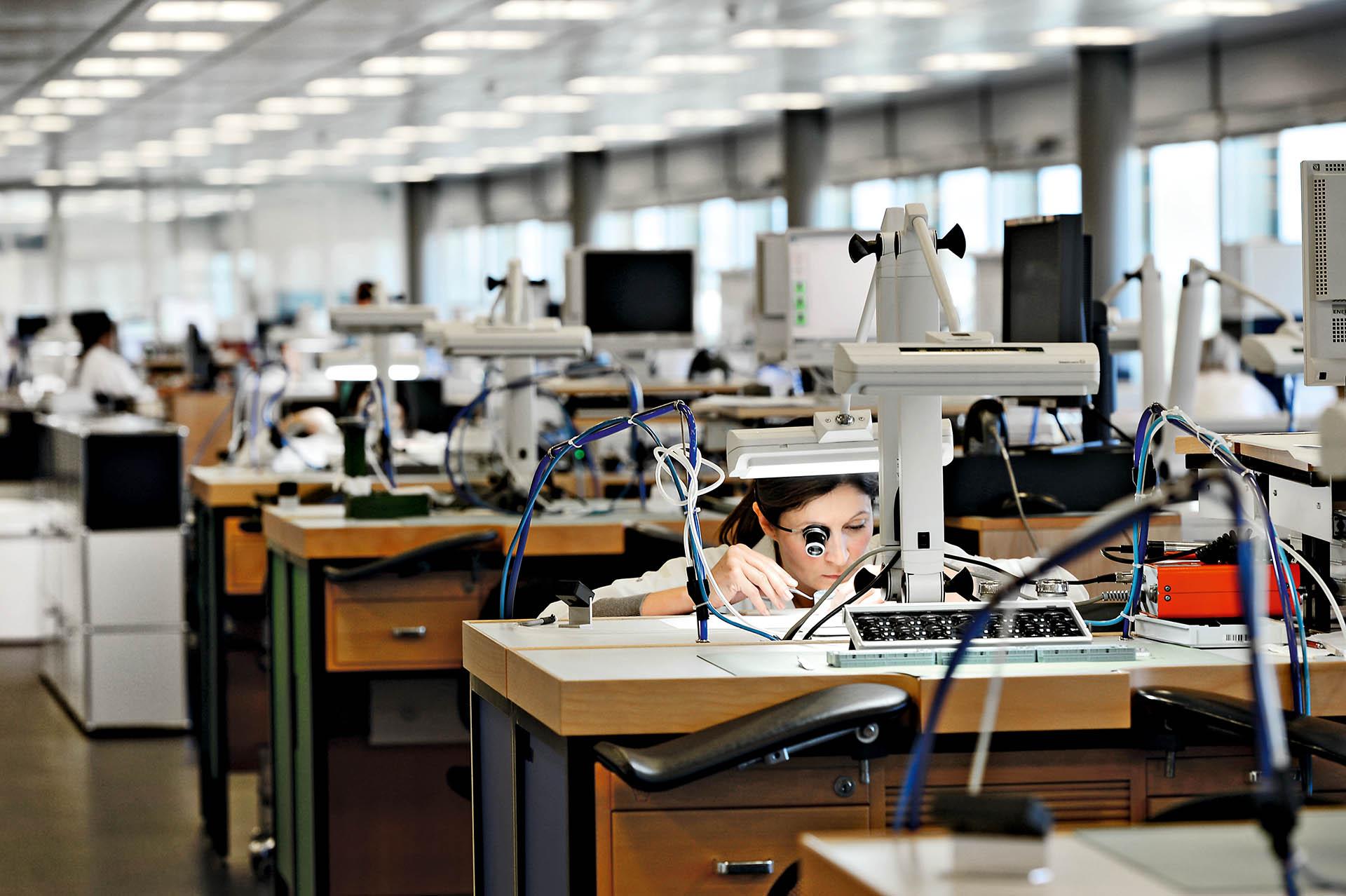 Rolex Les Acacias Firmensitz und Endmontage