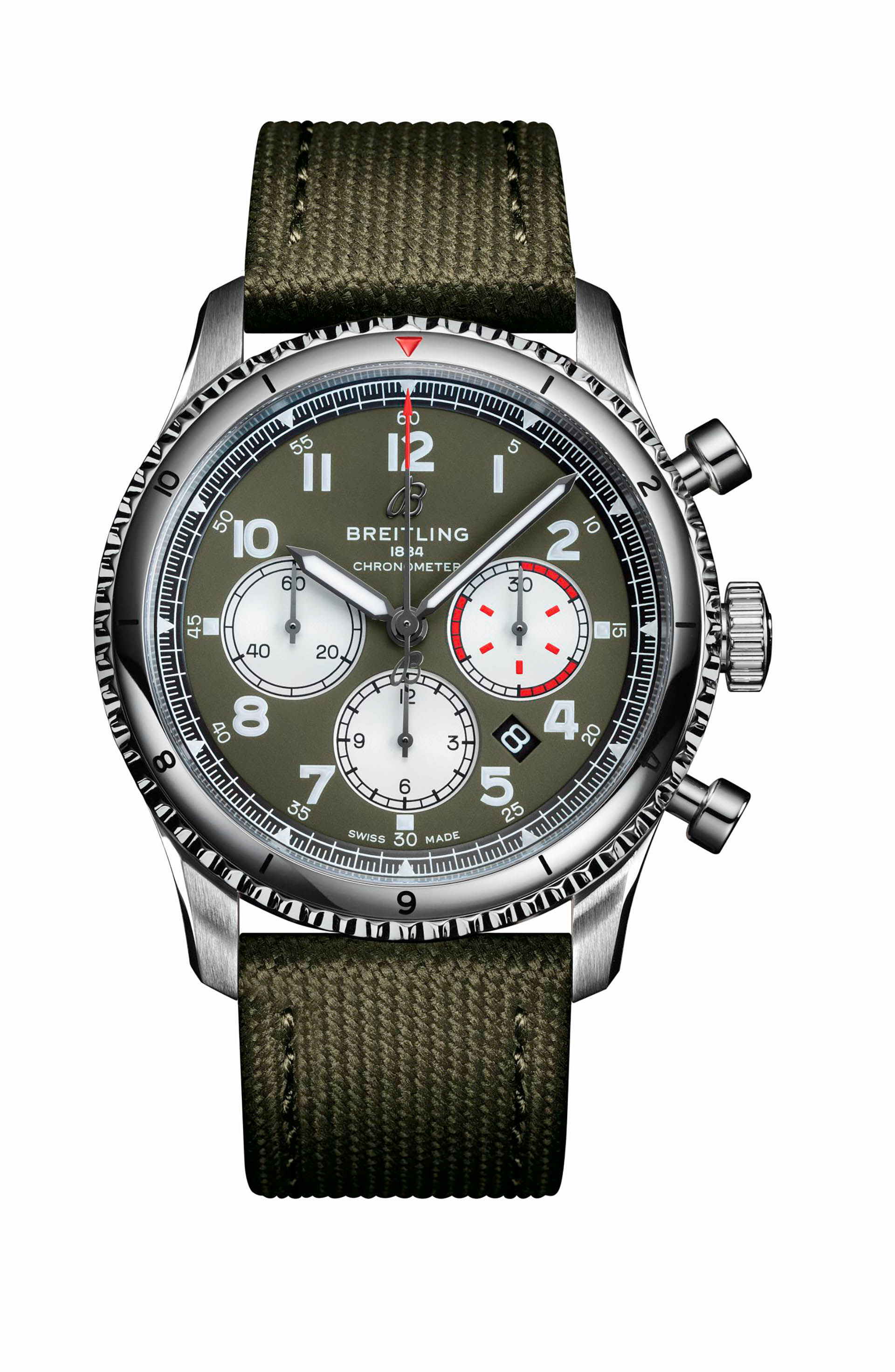 Aviator 8 B01 Chronograph 43 Curtiss Warhawk