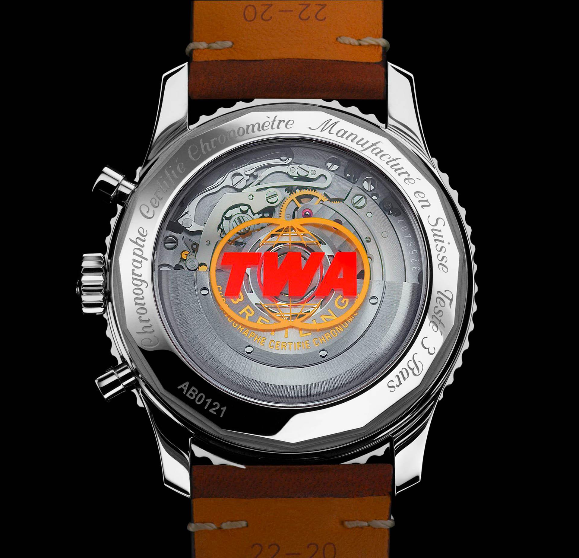 Das Uhrwerk vom Kaliber B01 in der Airline Edition