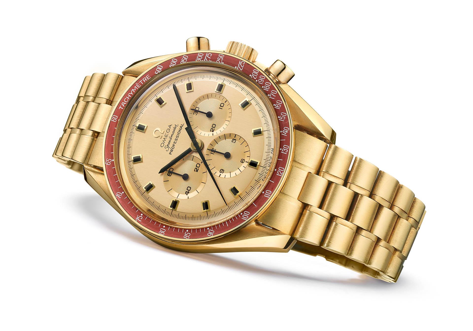Es gab schon damals nur 1014 Exemplare des eleganten Gold-Chronographen.