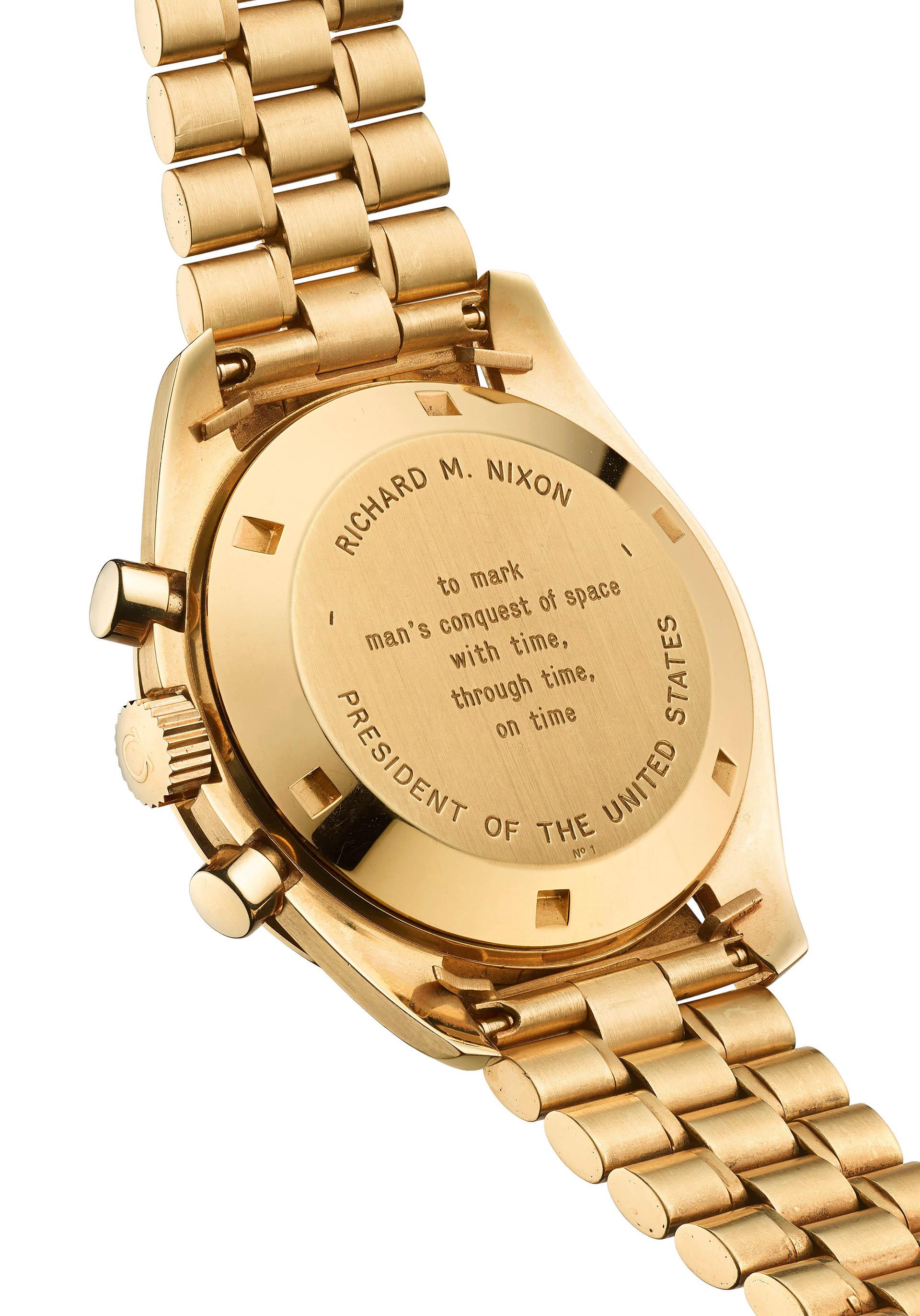 US-Präsident Nixon erhielt die Uhr mit der Nummer 1