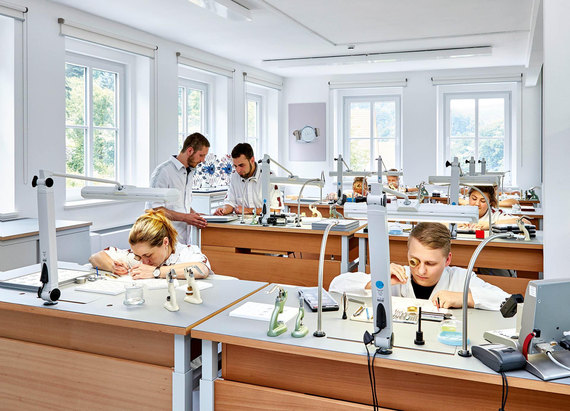 Uhrmacherwerkstatt Nomos Glashütte