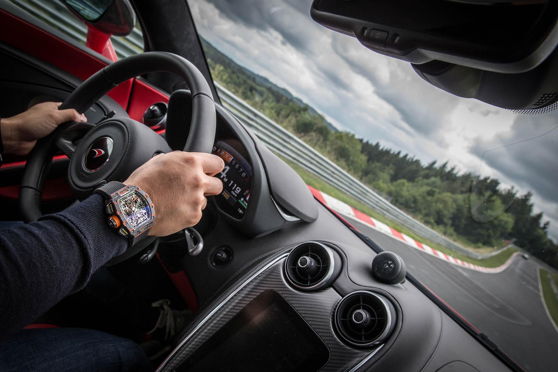 Mit Richard Mille und McLaren durch die Grüne Hölle am Nürburgring.