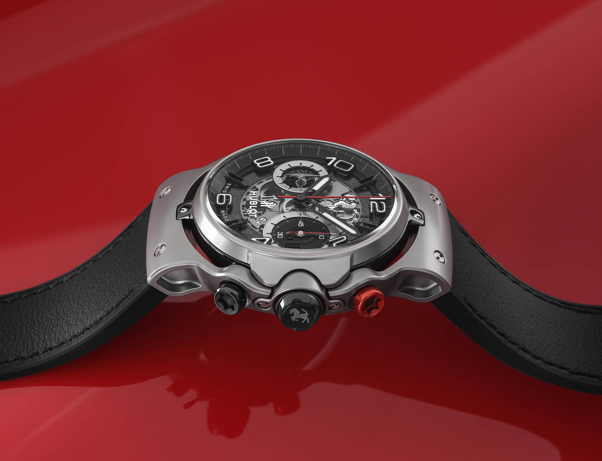 Hublot Classic Fusion Ferrari GT in Titan