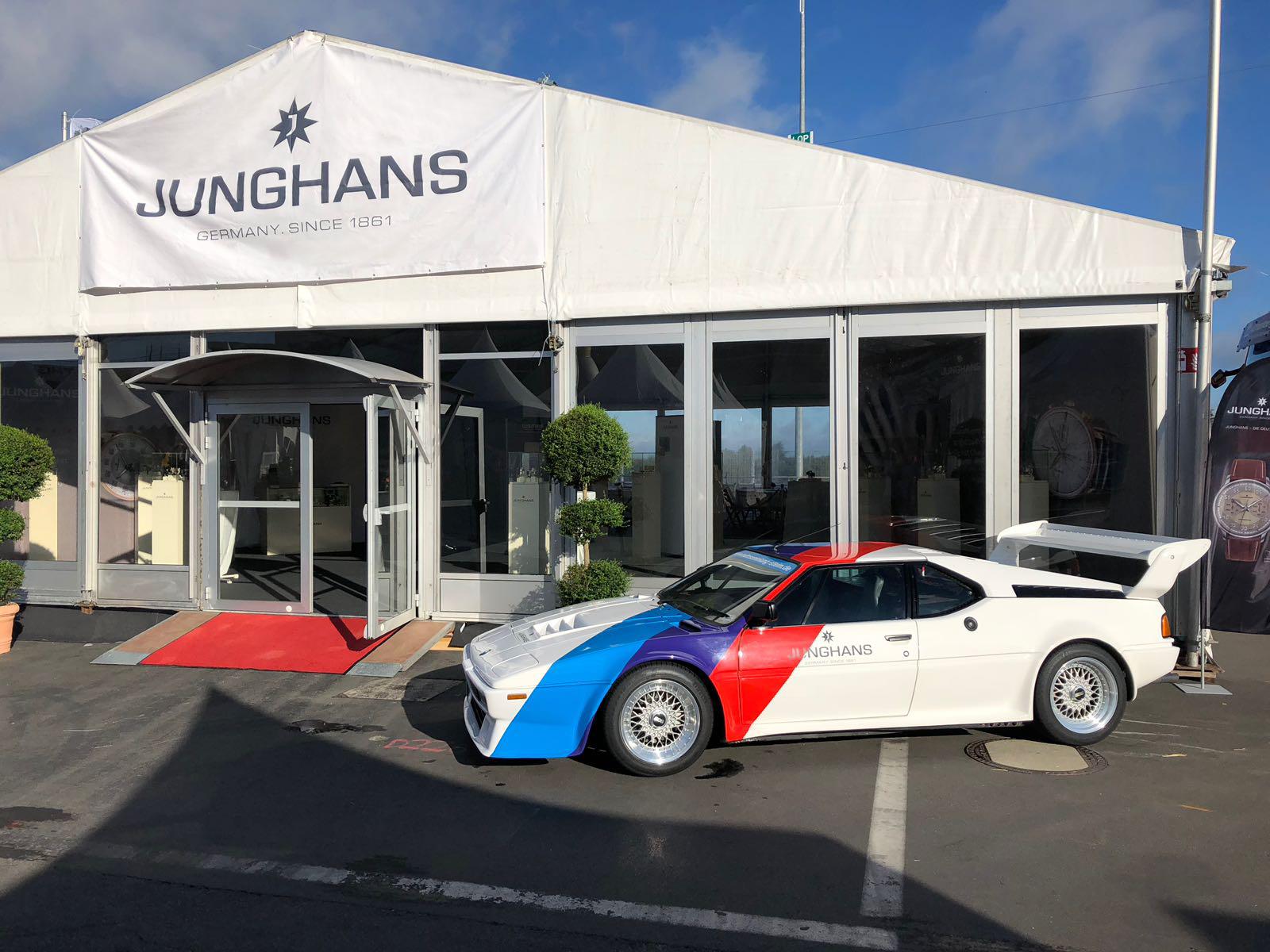 Junghans-Hospitality beim OGP am Nürburgring
