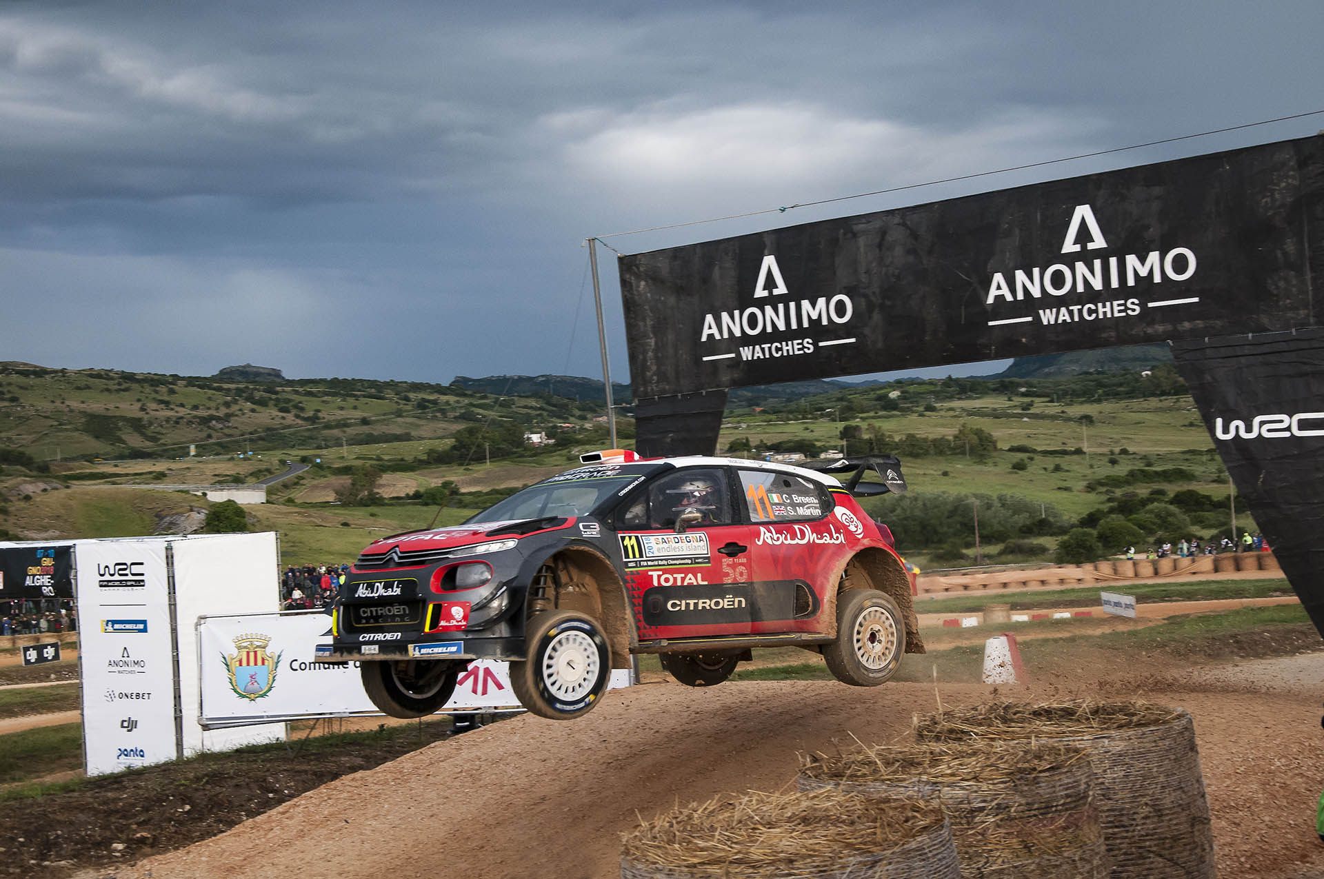 Anonimo offizieller Zeitnehmer der Rallye-Weltmeisterschaft WRC