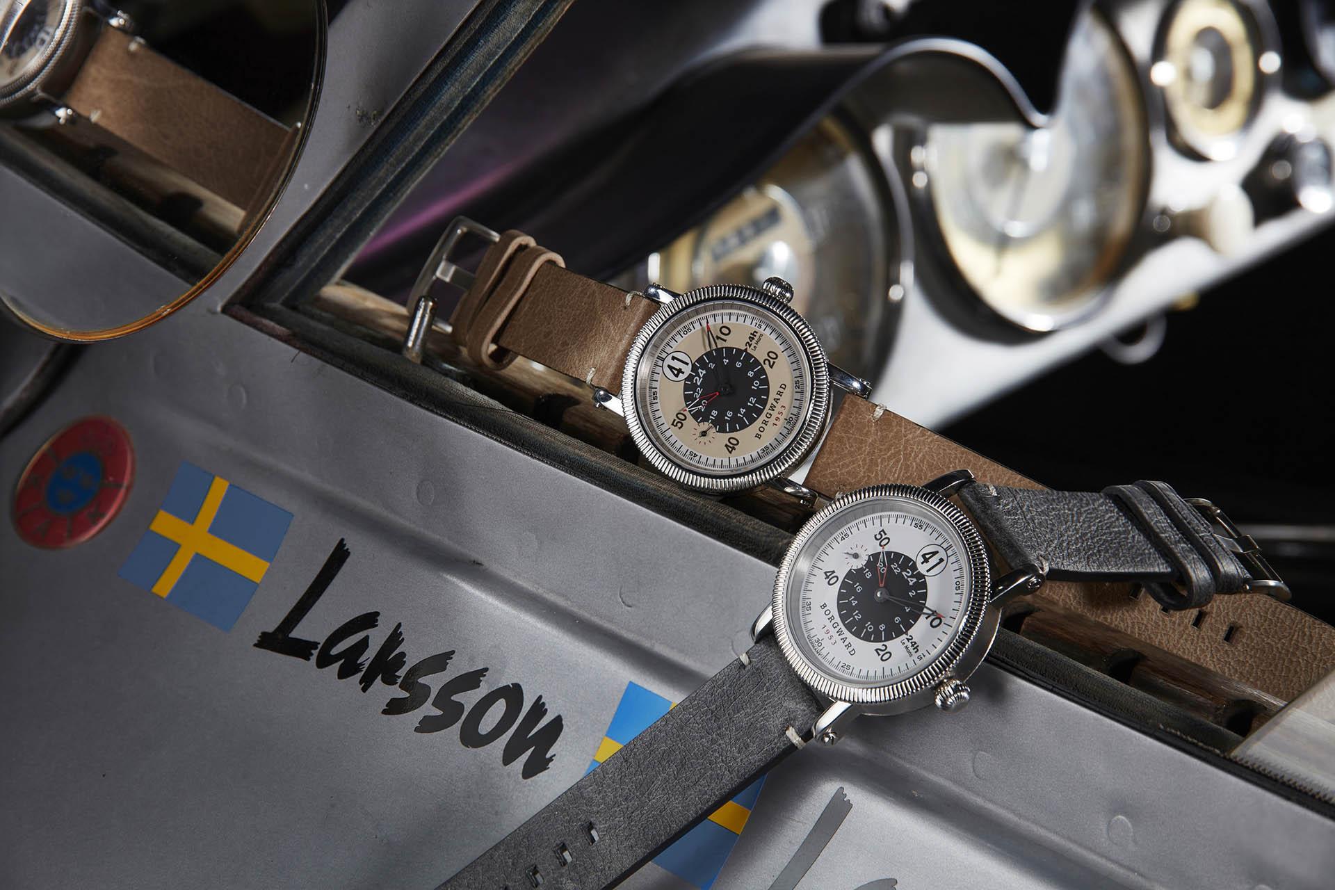 Die «Zeitmanufaktur» Borgward hat dem Le-Mans-Abenteuer die Kollektion «Forty-One» gewidmet.