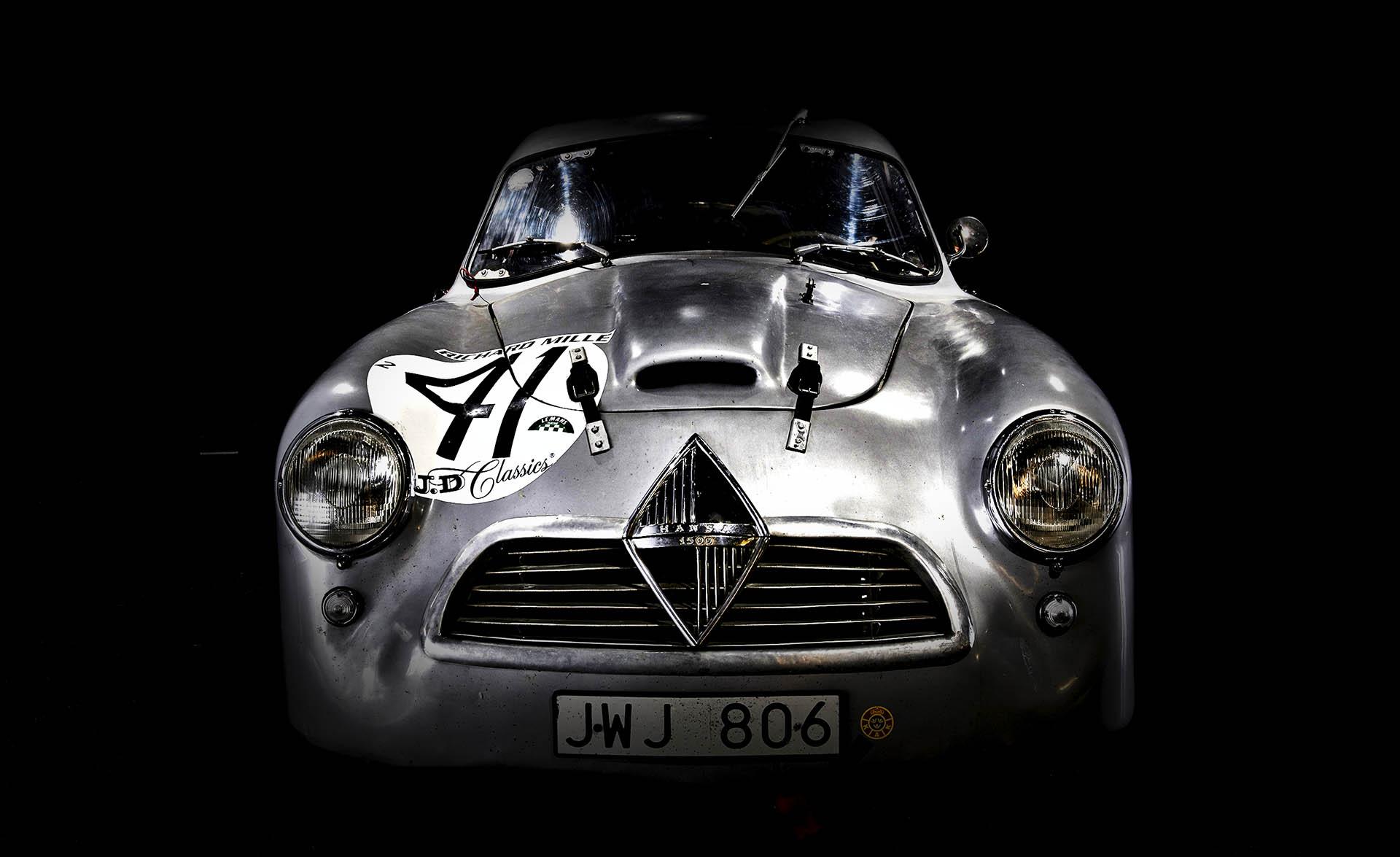 Last Survivor: Dieser Borgward Hansa fuhr schon 1953 in Le Mans, überlebte in einer schwedischen Sammlergarage.