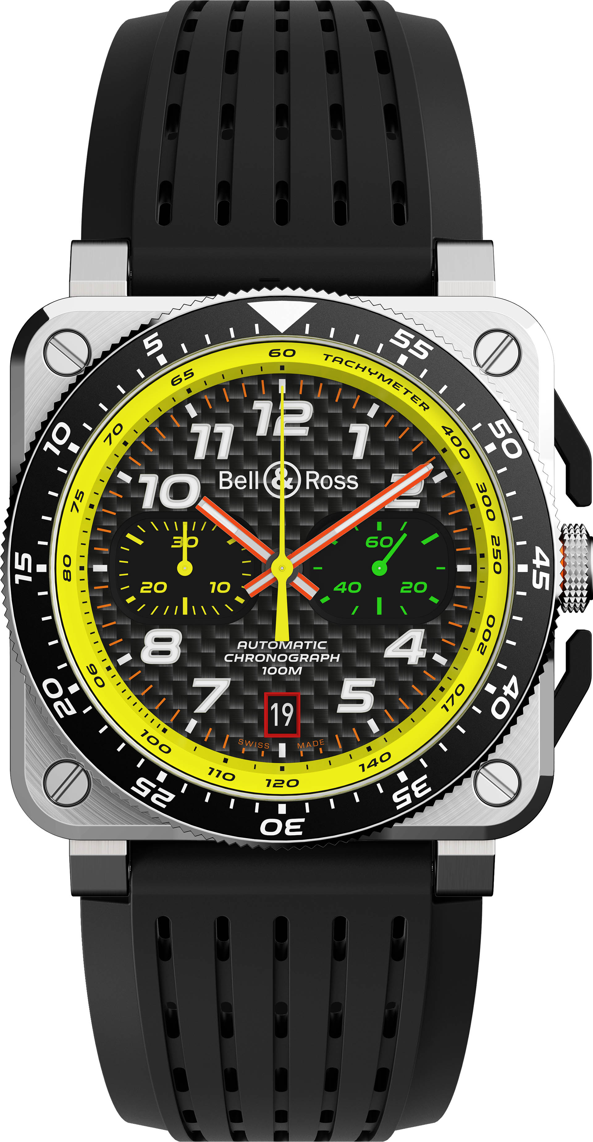 Bell & Ross BR 03-94 R.S. 19 Chronograph in Titan