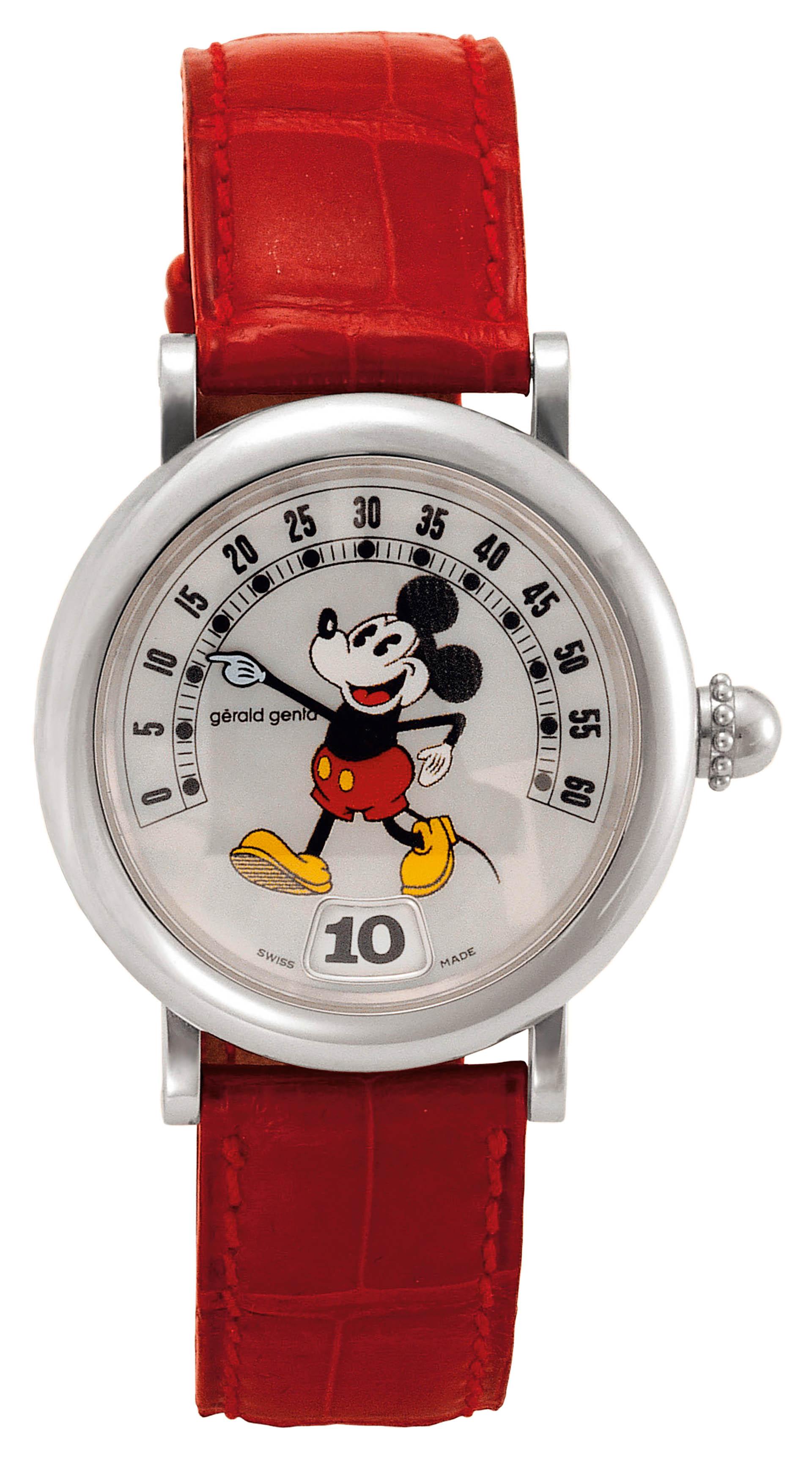 Uhr Mickey Mouse von Gérald Genta