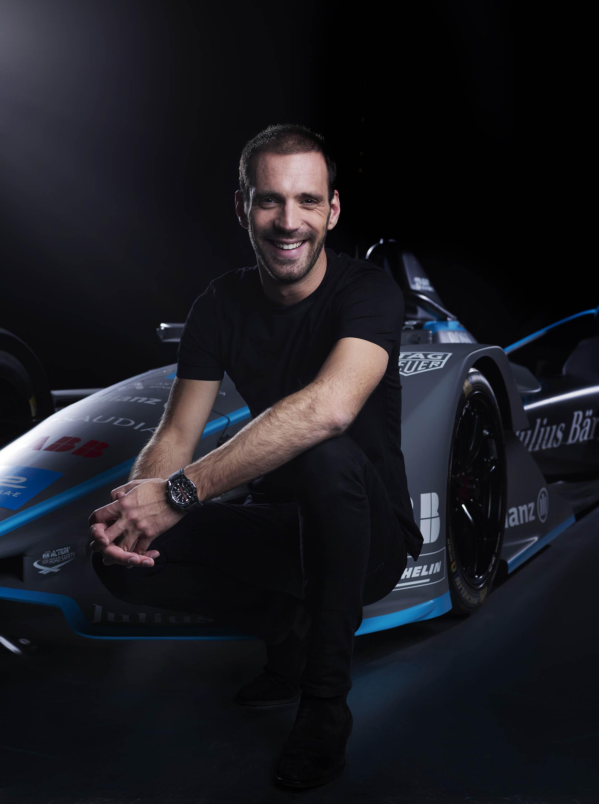TAG Heuer Formel-E-Botschafter Jean-Eric Verne