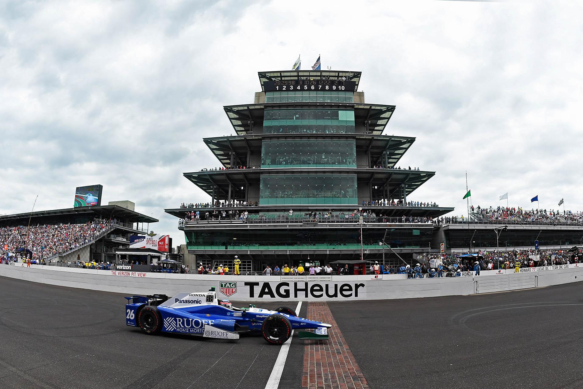 TAG Heuer offizieller Zeitnehmer des Indy 500