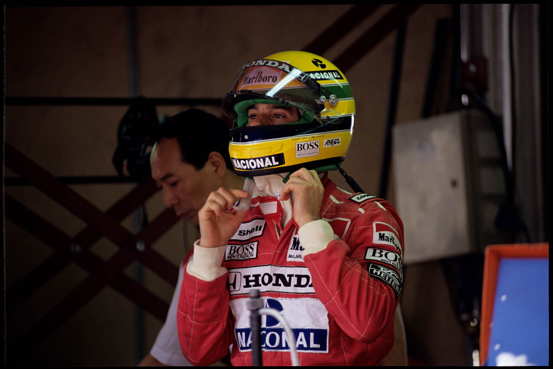 Ayrton Senna: «Don't crack under pressure»
