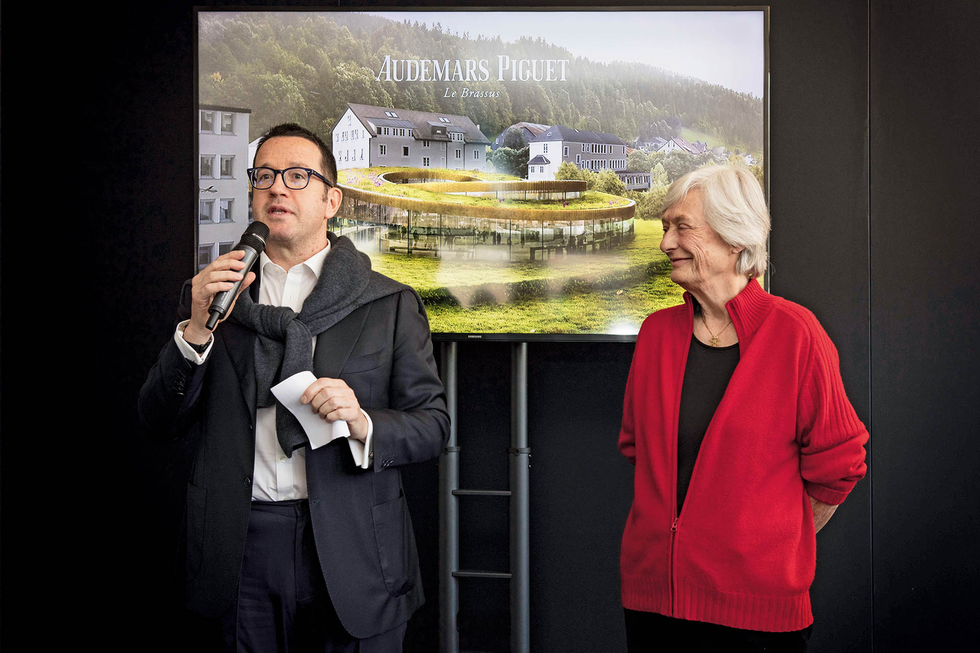 Jasmine Audemars, Präsidentin des Verwaltungsrats, und CEO François- Henry Bennahmias