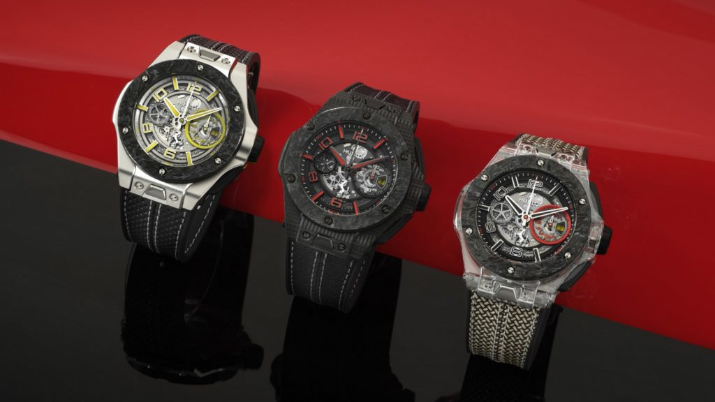 Hublot Big Bang Scuderia Ferrari 90th Anniversary.