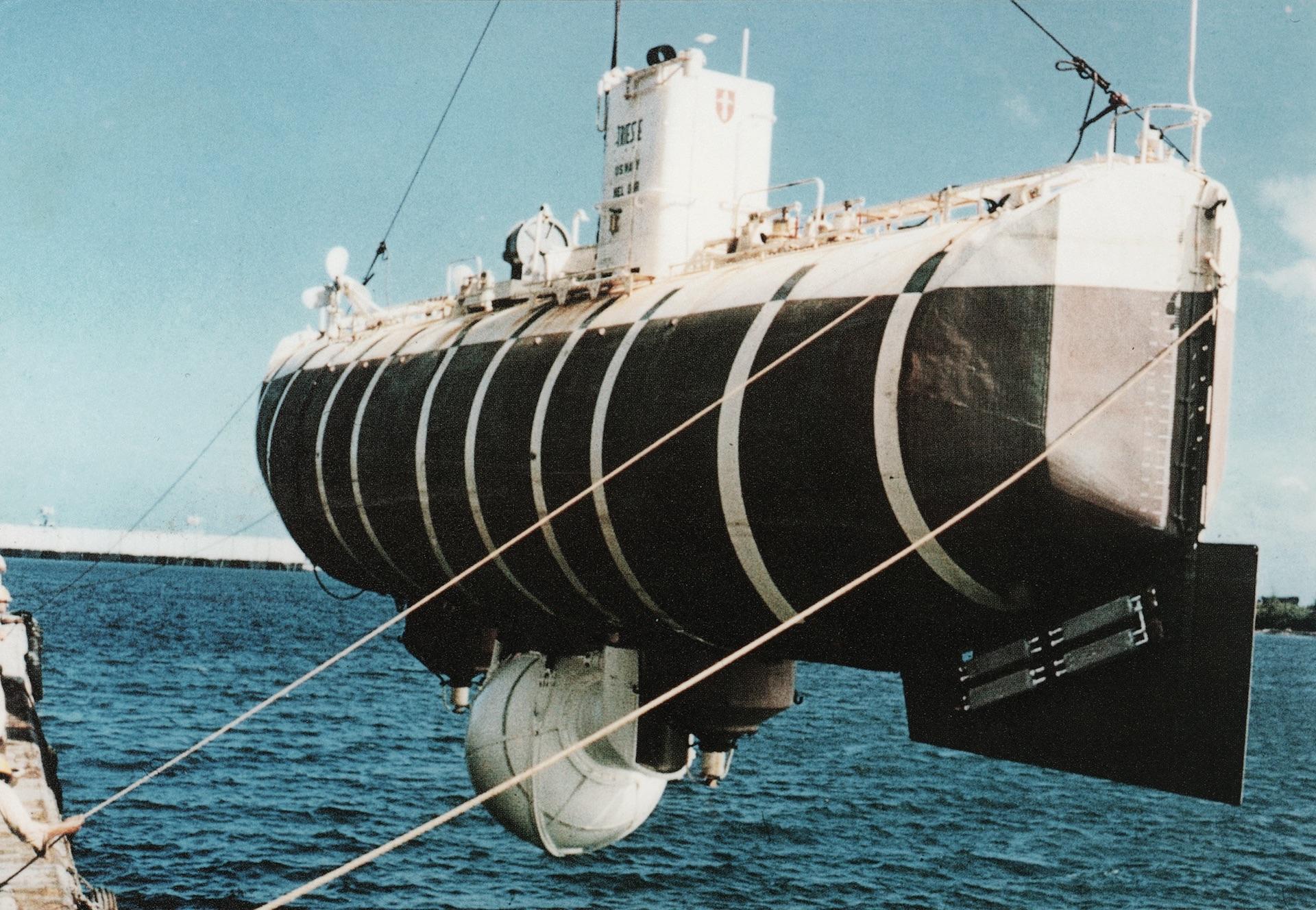 Am Rumpf der «Trieste» war 1960 eine Rolex befestigt.