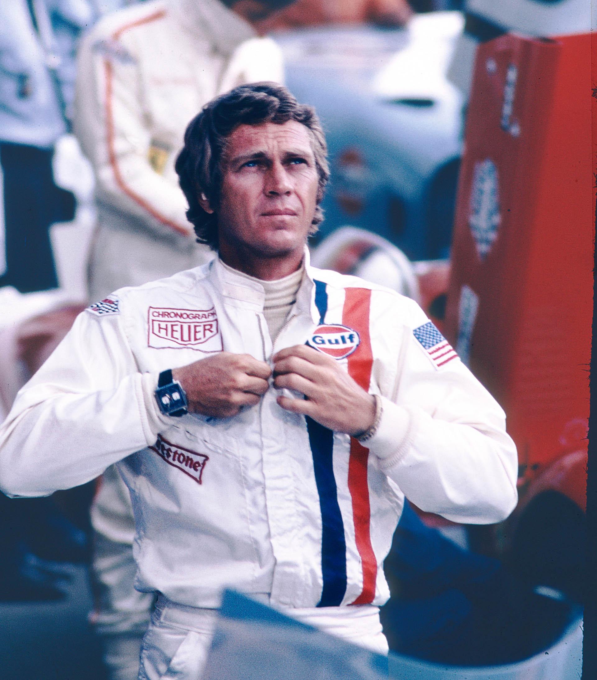 Steve McQueen in «Le Mans»