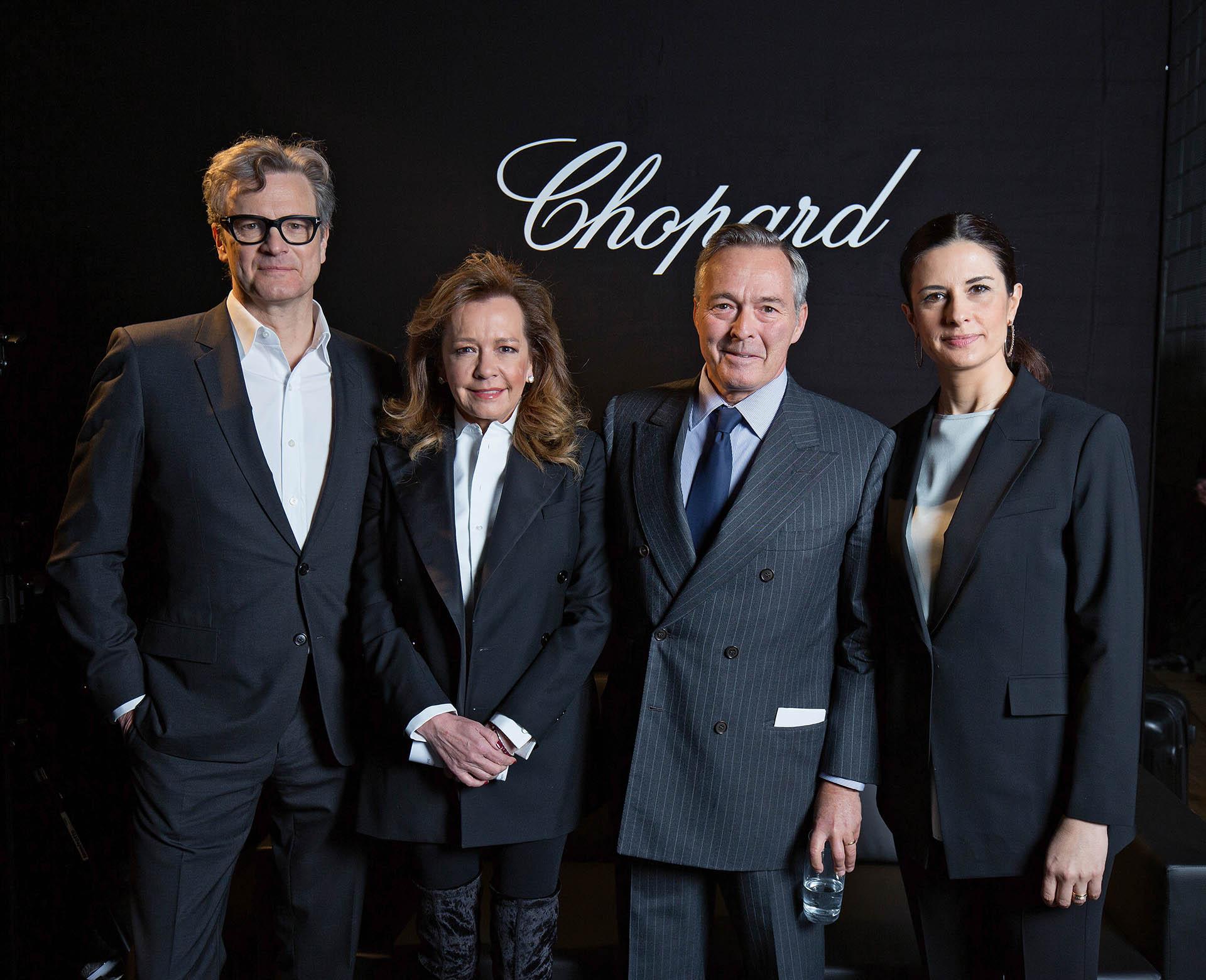Caroline Scheufele, Karl-Friedrich Scheufele, Livia Firth, Colin Firth