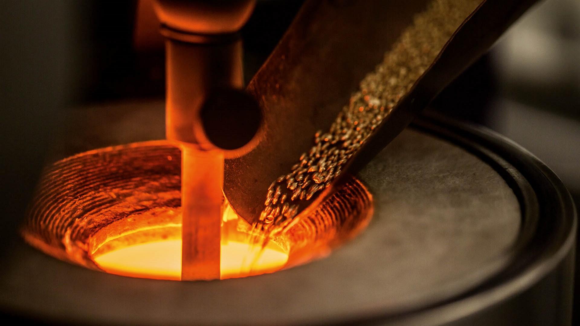 Goldschmelzerei von Chopard, Herstellung von Legierungen