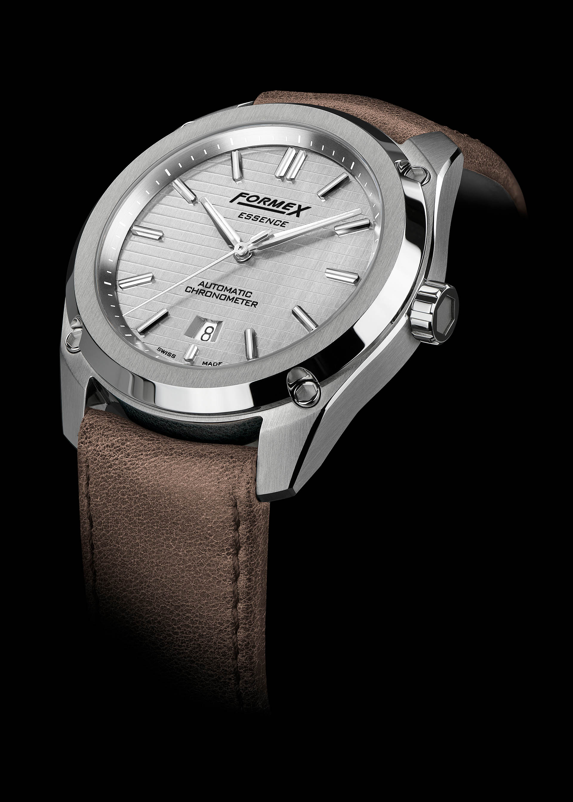 Formex Essence Automatic Chronometer Silver Side