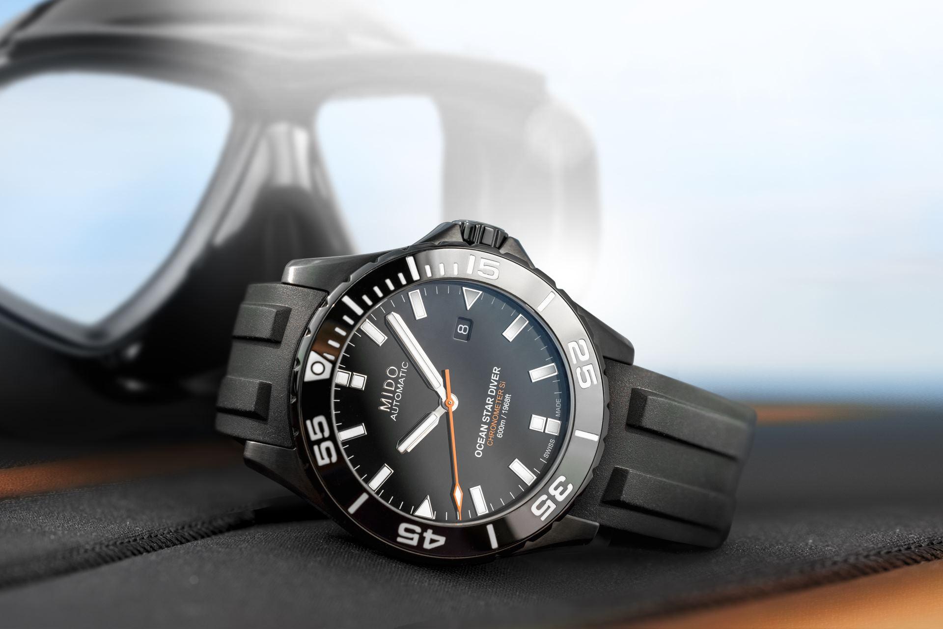 Taucheruhr Ocean Star Diver 600 von Mido