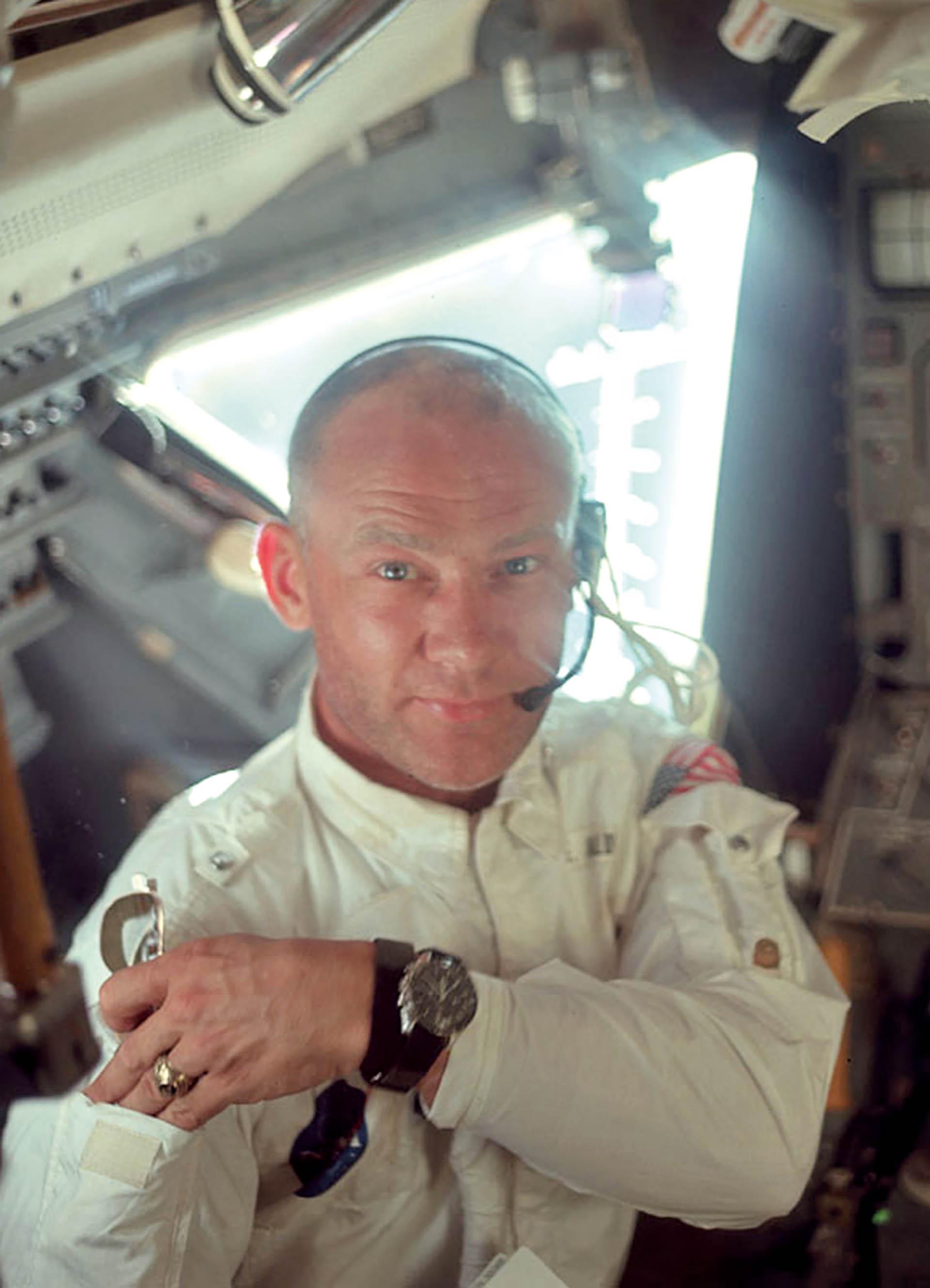Buzz Aldrin und Speedmaster Moonwatch