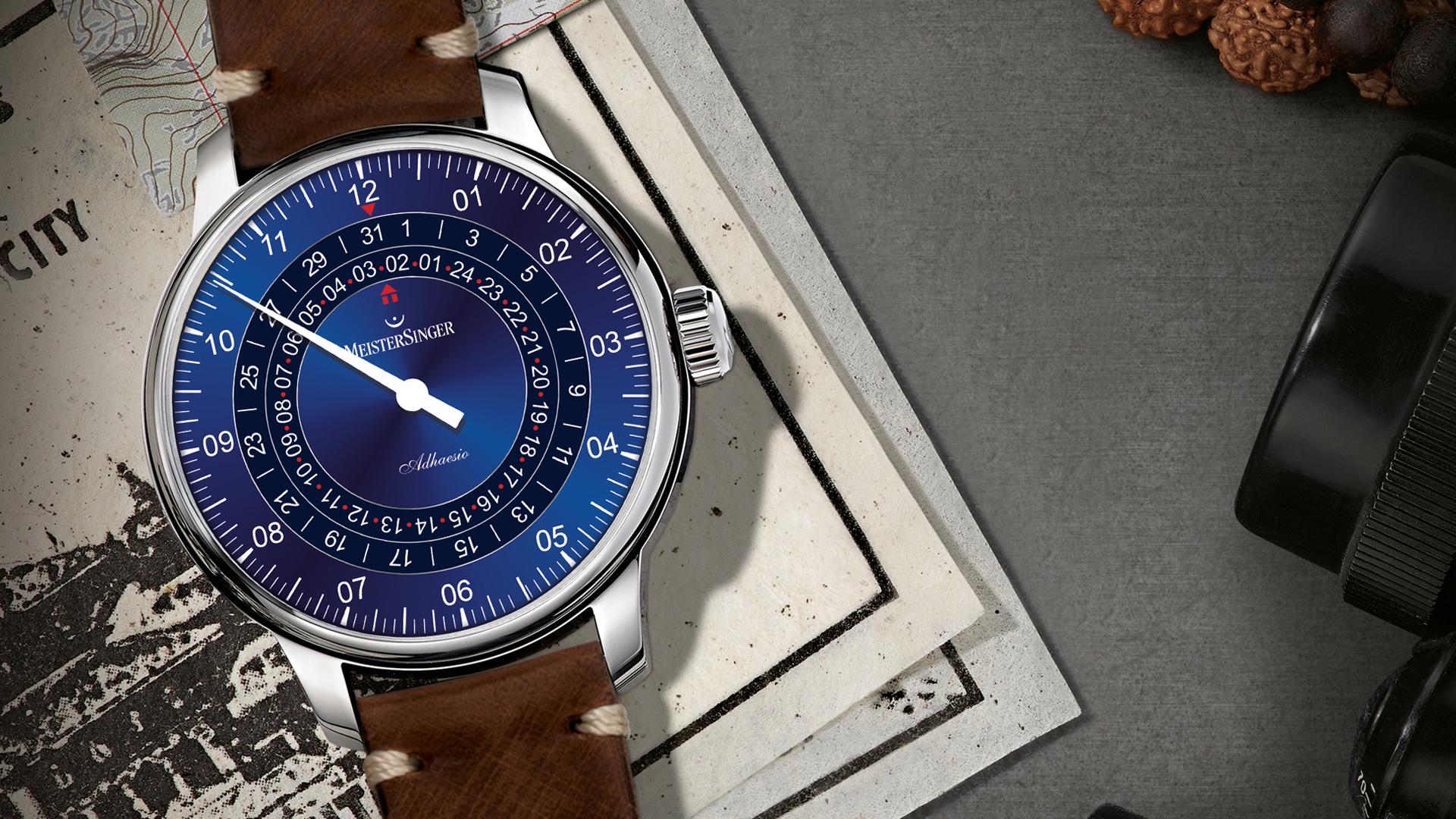 Armbanduhr MeisterSinger Adhaesio