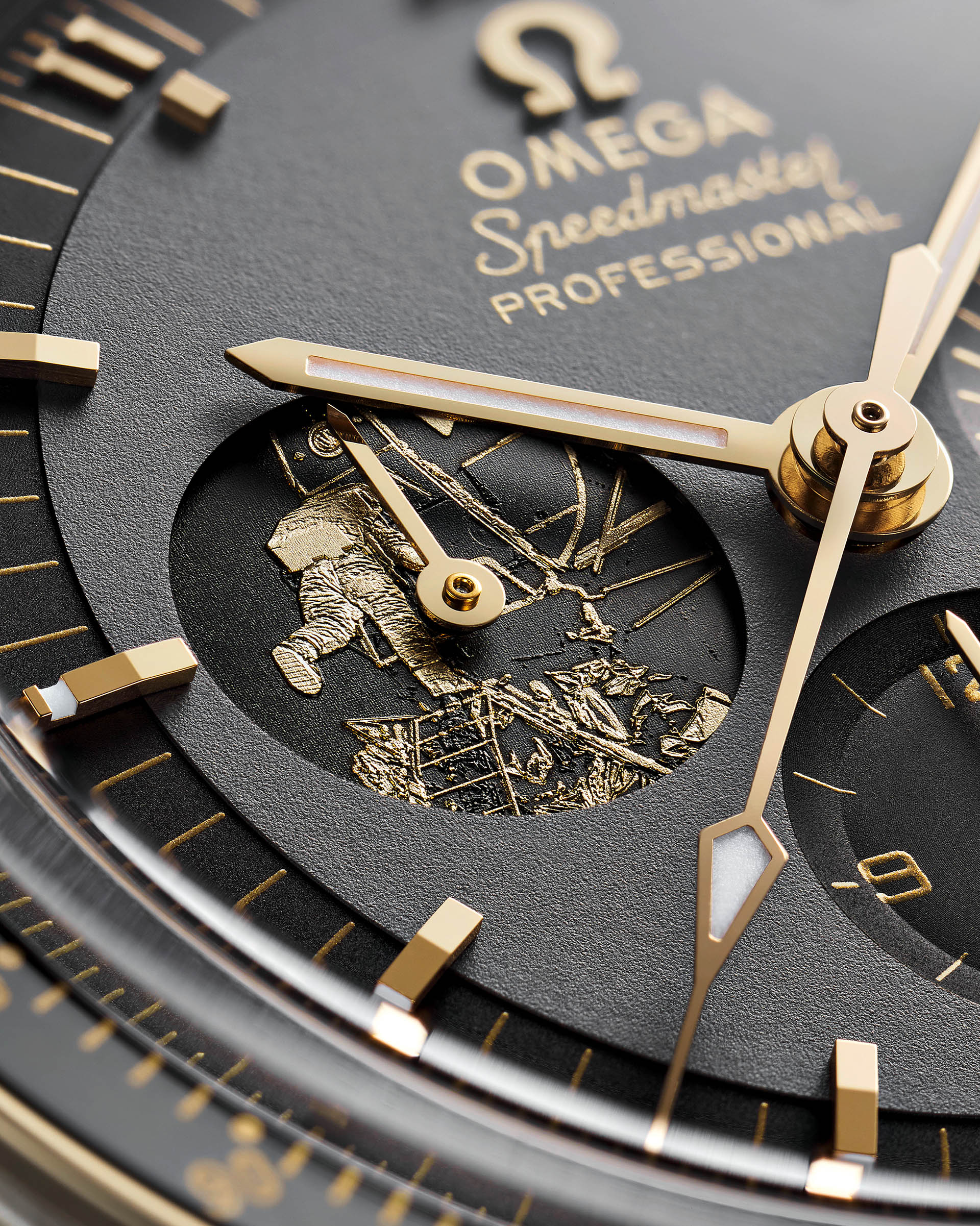 Omega Speedmaster Apollo 11 50th Anniversary Limited Edition in Edelstahl