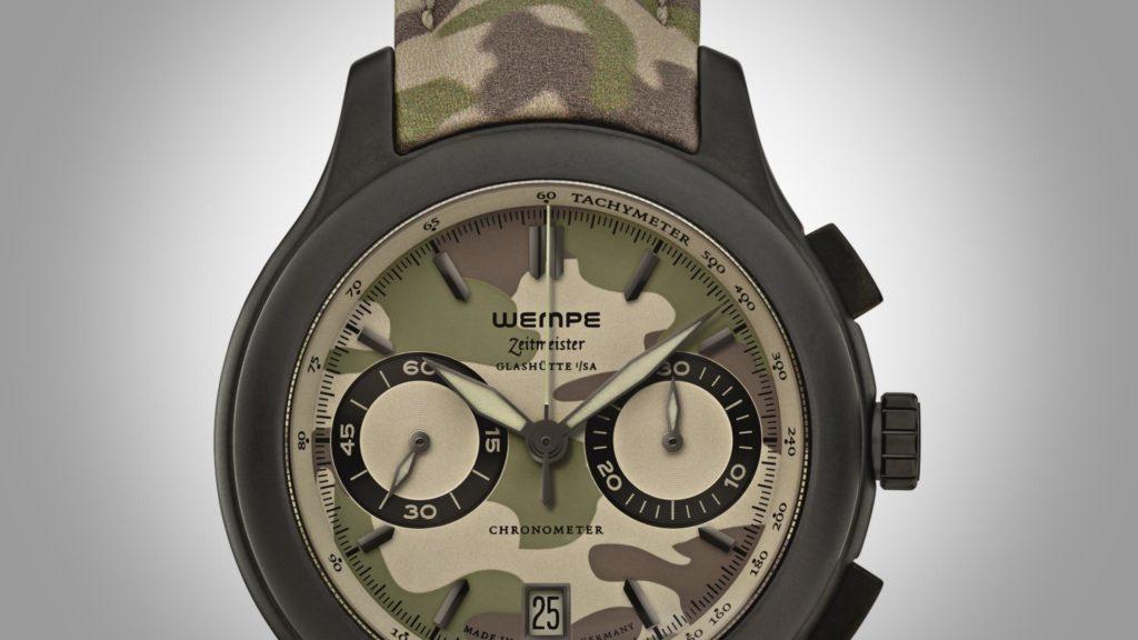 Wempe Zeitmeister Chronograph Keramik Camouflage