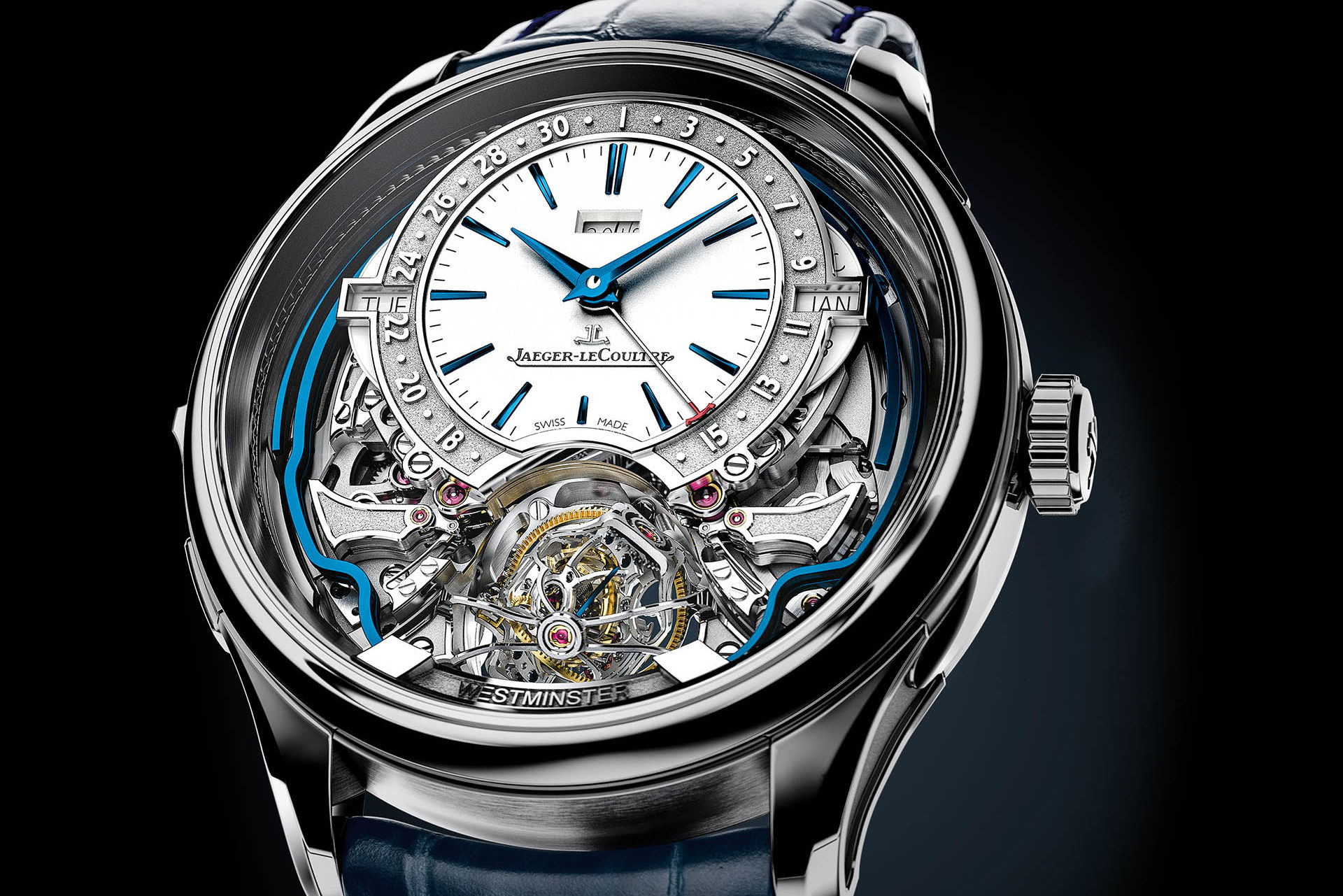 JAEGER-LECOULTRE GYROTOURBILLON WESTMINSTER PERPETUEL