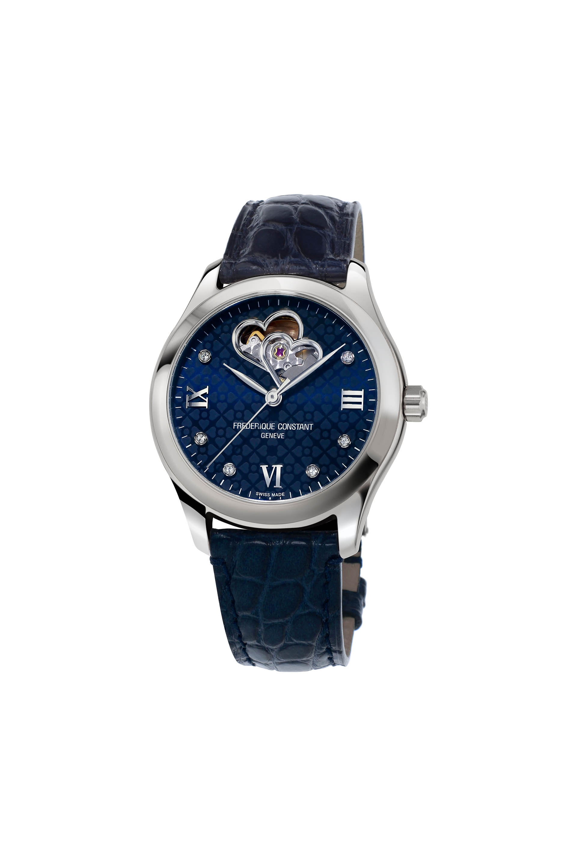 Frederiqut Constant Ladies Automatic Double Heart Beat