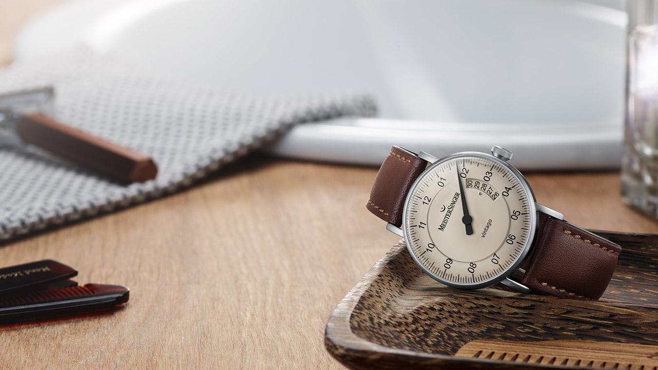 MeisterSinger die Armbanduhr Vintago