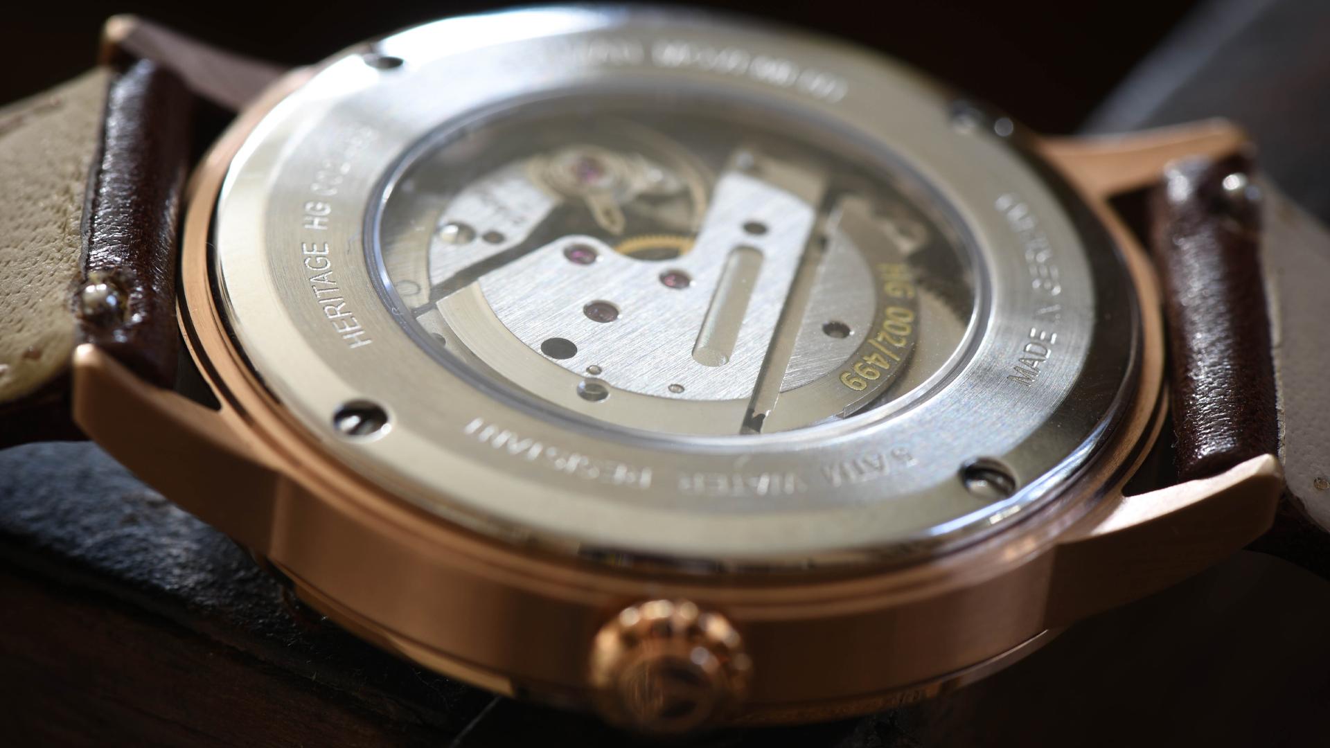 Uhrwerk, Gehäuse Circula Heritage Handaufzug