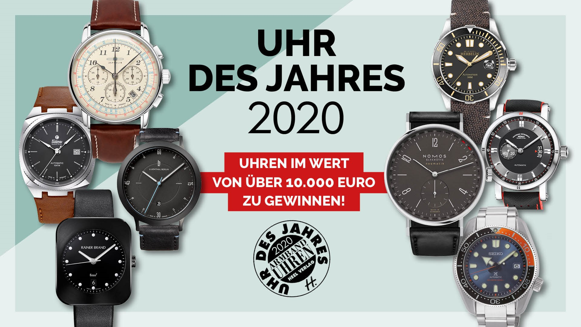 Armbanduhren Uhr des Jahres 2020