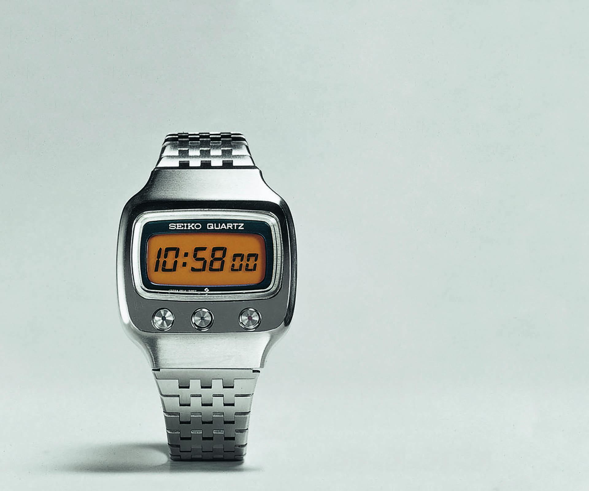 Seiko Quarzuhr LCD