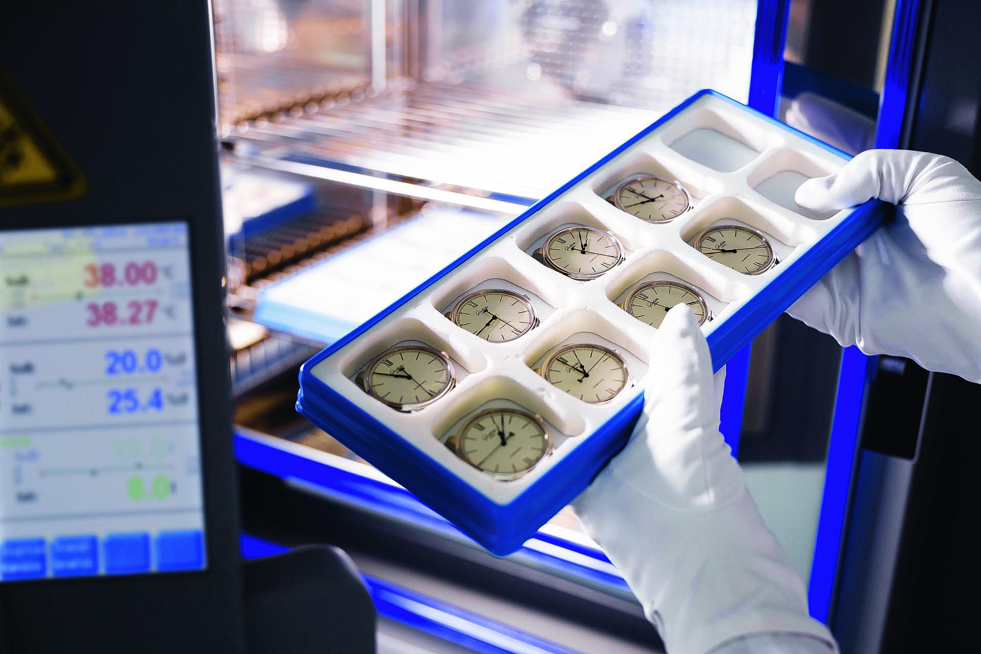 Glashütte Original Qualitätskontrolle