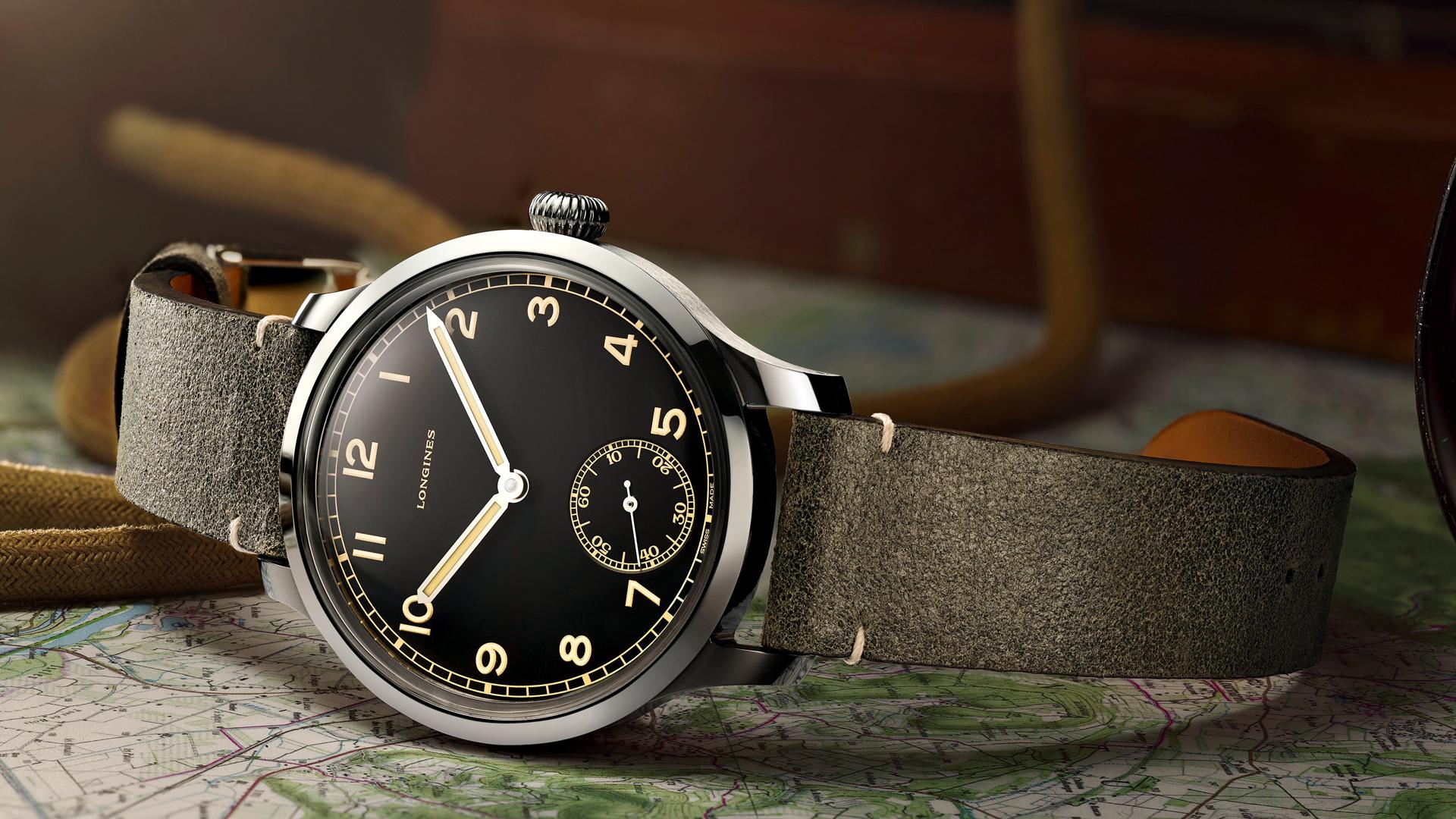 Militär Armbanduhr