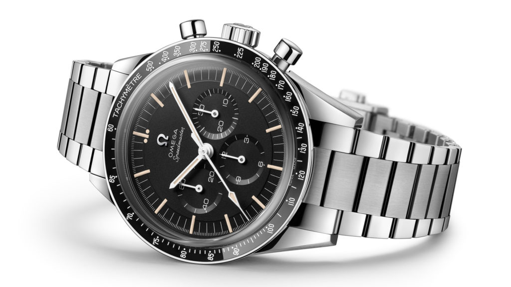 Stahlversion der Speedmaster