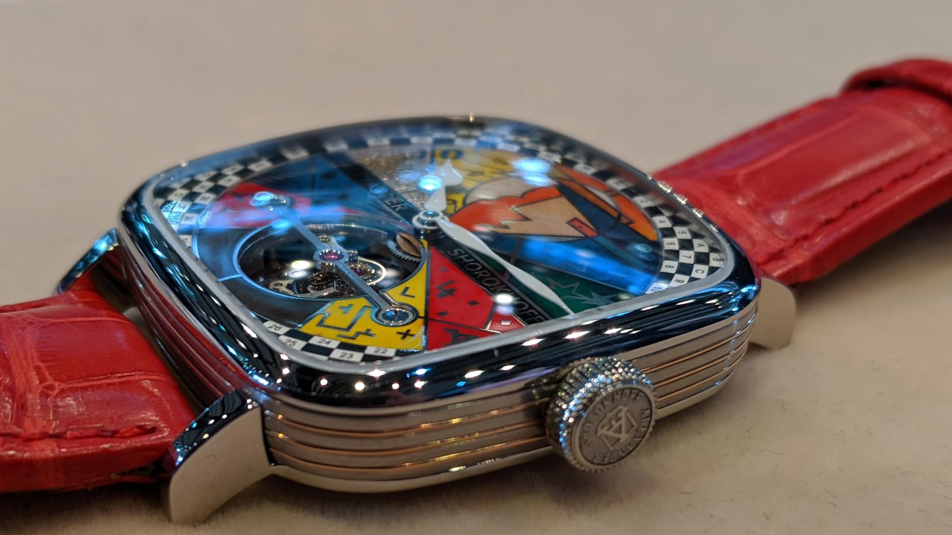Armbanduhr Tourbillon
