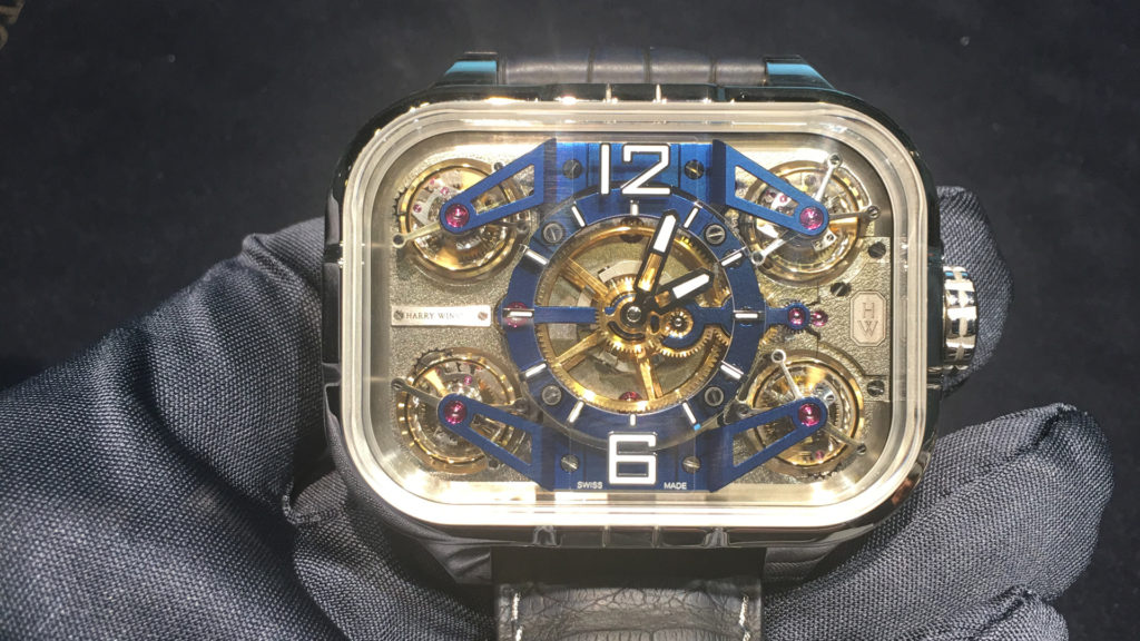 Harry Winston Tourbillon