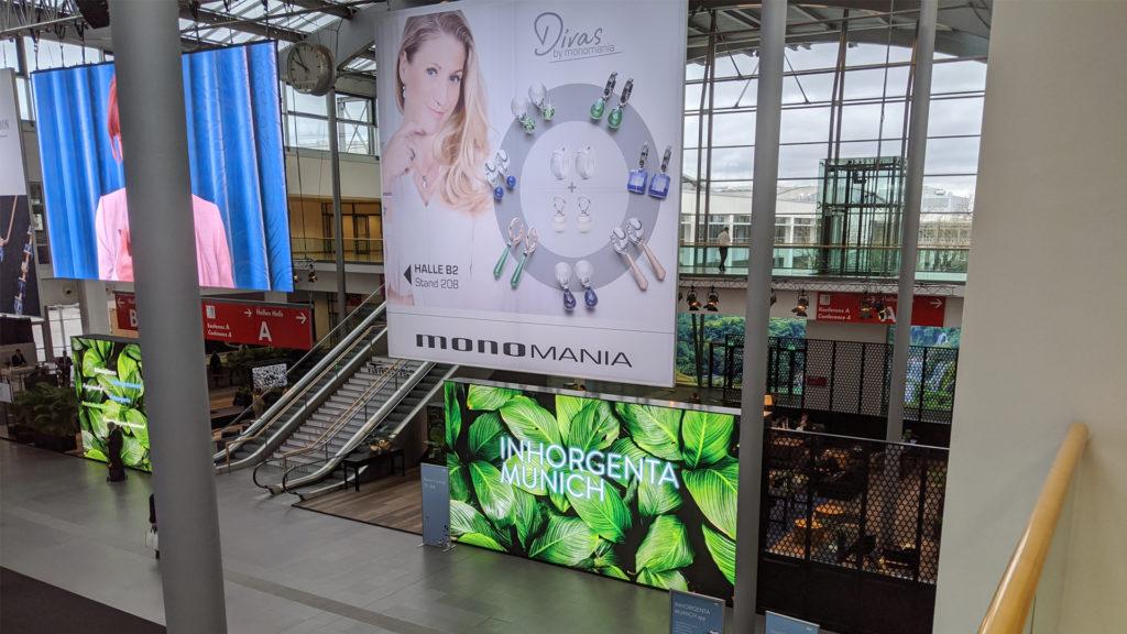 Eingang Inhorgenta Munich