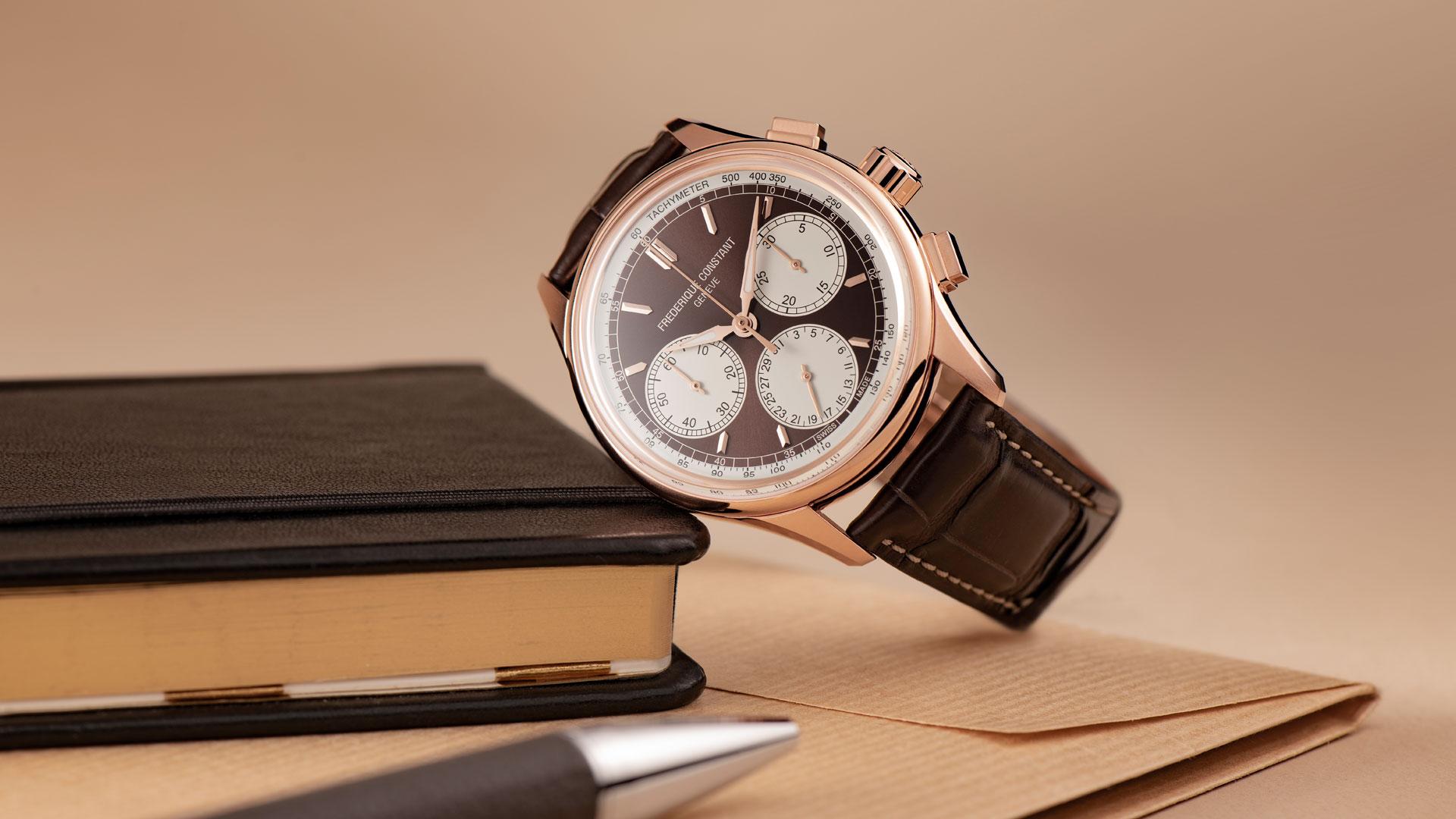 Armbanduhr Frederique Constant Flyback Chronograph